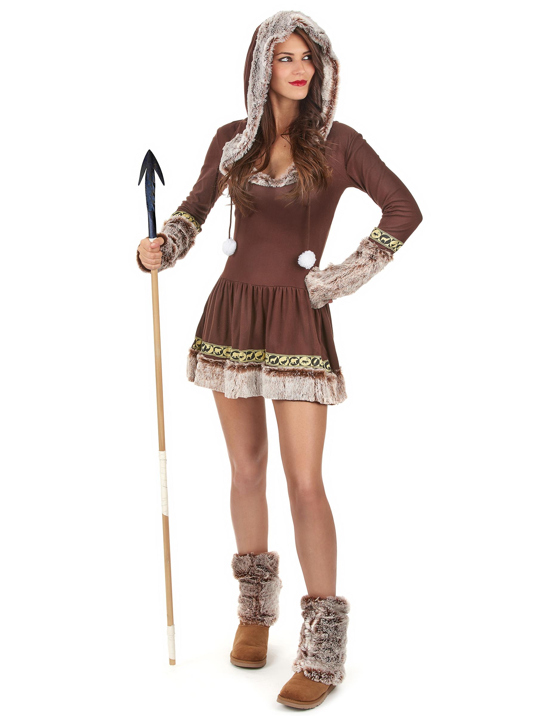 feae89e4b7 Costume Eschimese sexy per donna: Costumi adulti,e vestiti di ...