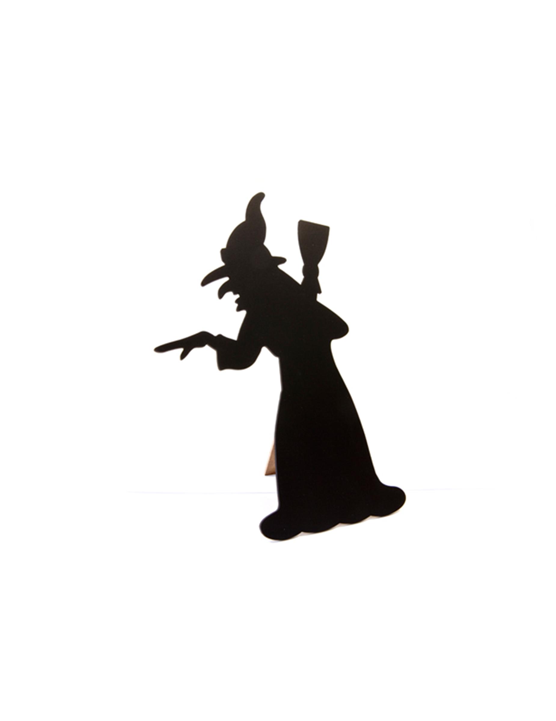 Decorazione Halloween Lavagnetta Men Strega