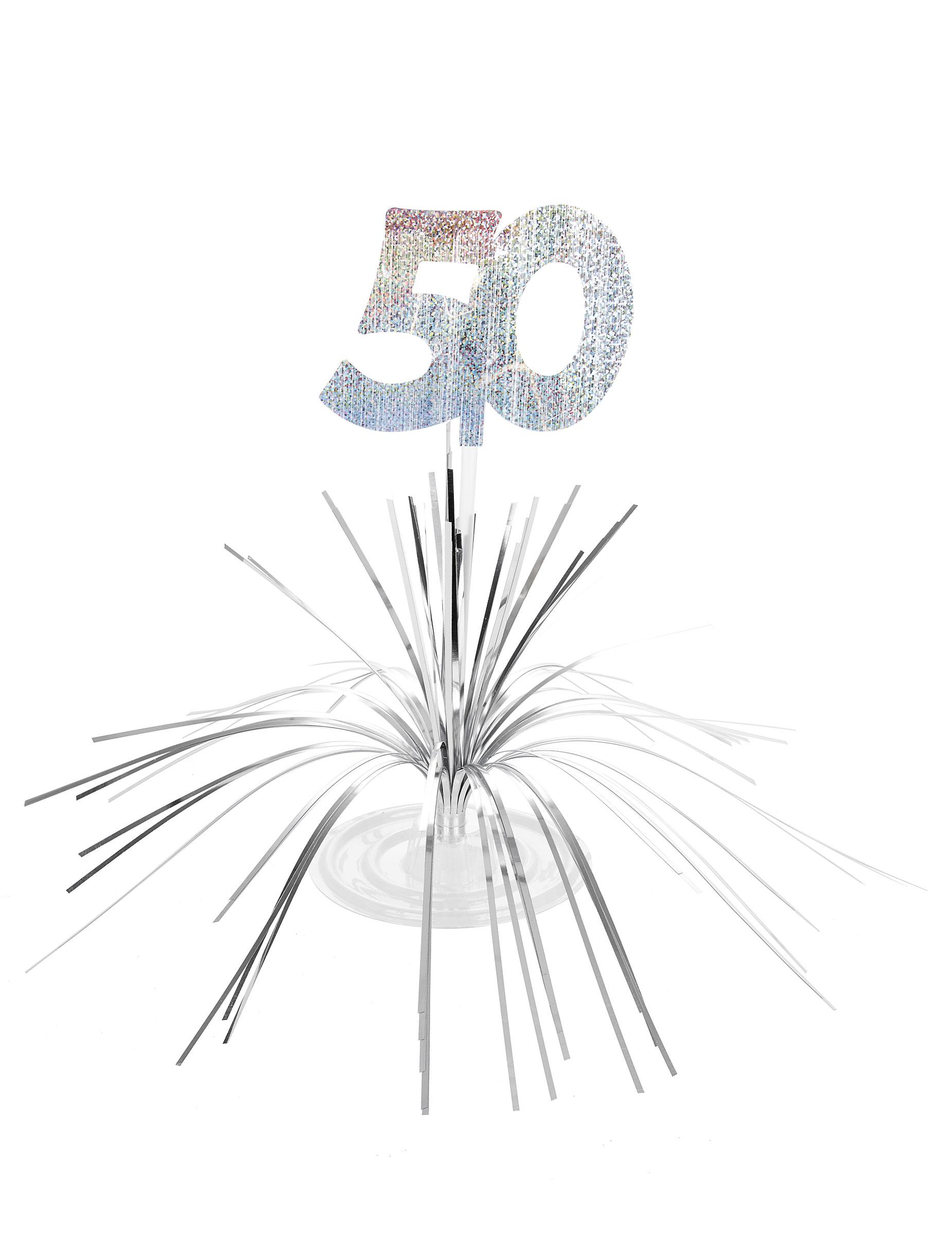Centro Tavolo Per Compleanno Di 50 Anni Addobbi E Vestiti Di