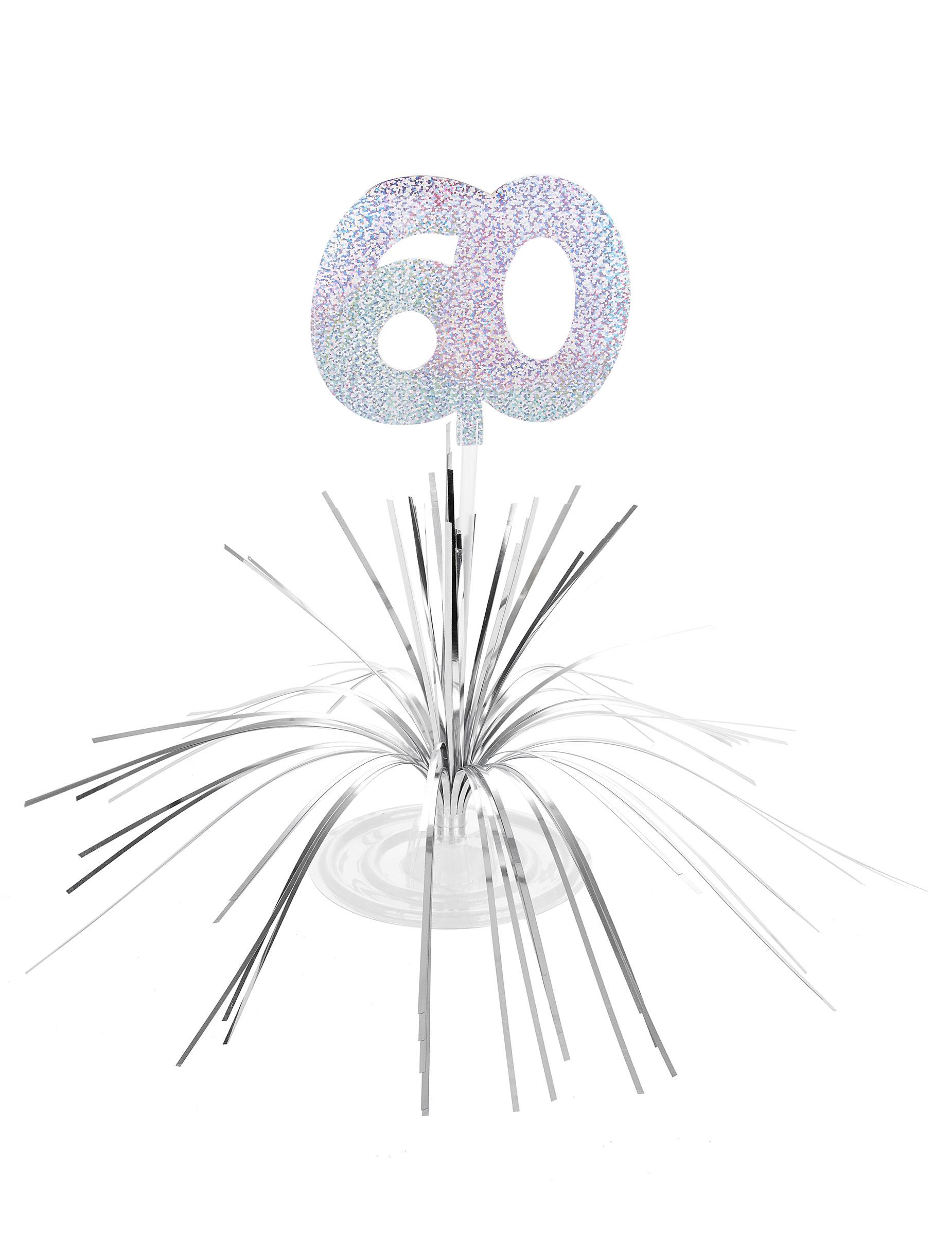Favoloso Centro tavolo per compleanno di 60 anni: Addobbi,e vestiti di  OJ22
