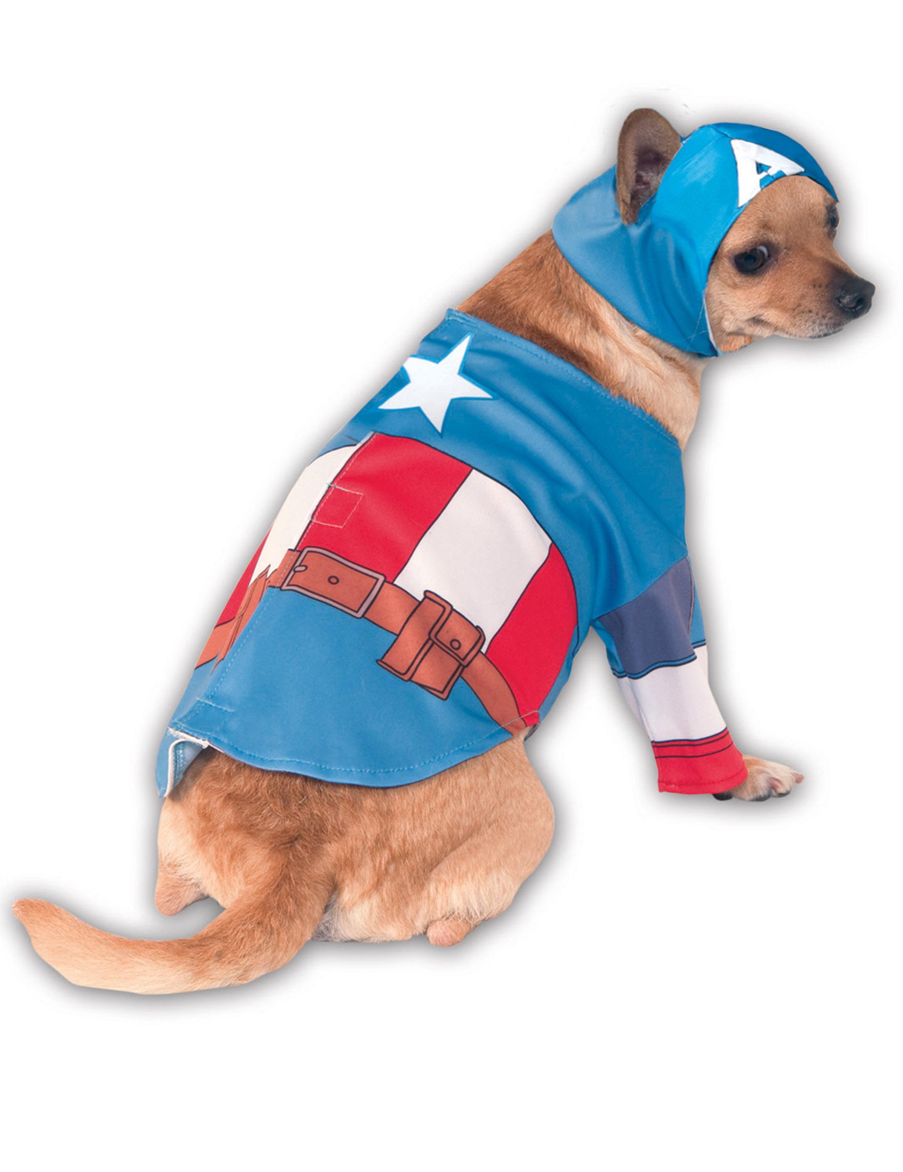 Costume per cani da Capitan America™ 12d1617672b9
