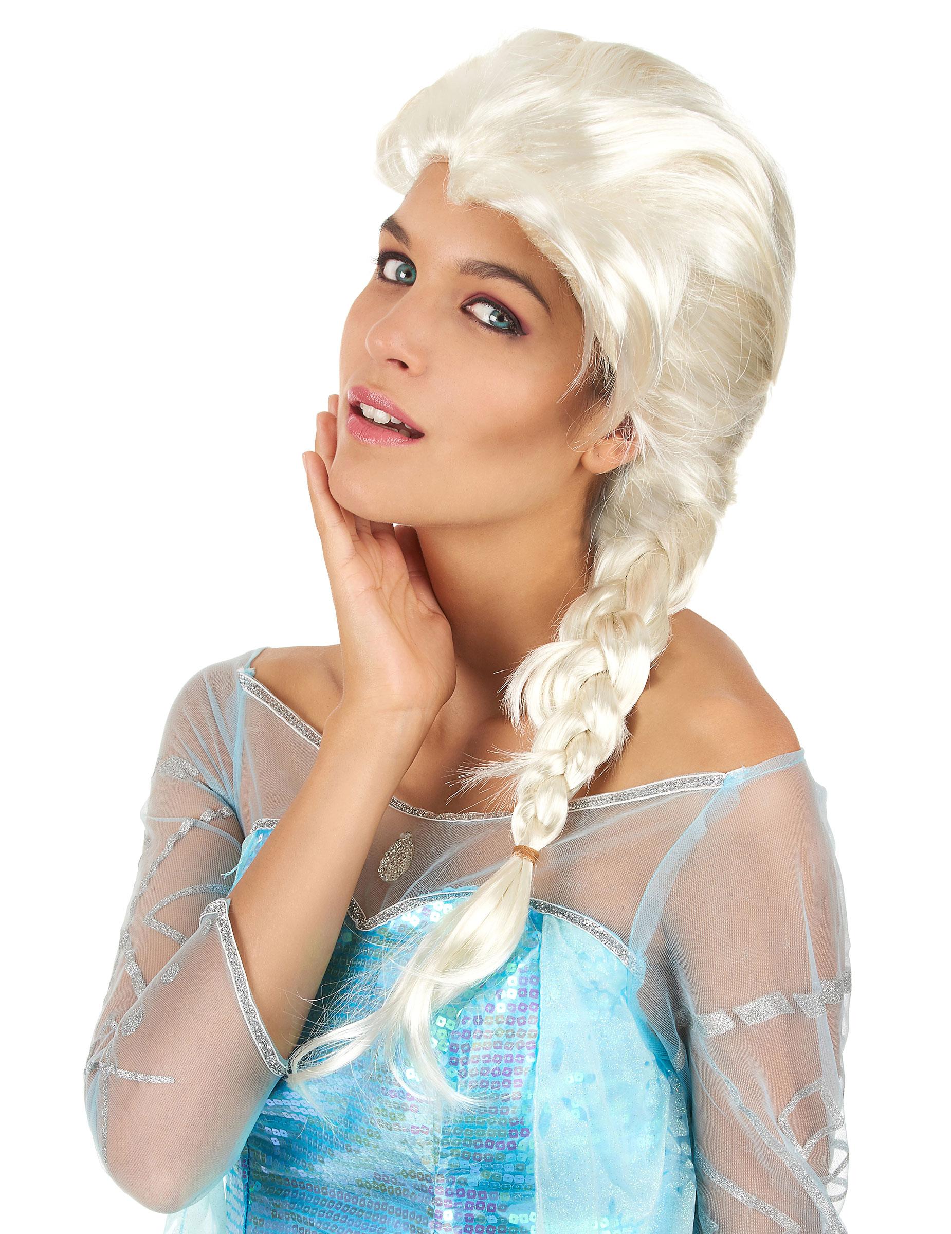 Parrucca lunga treccia donna bionda 789f270e29a