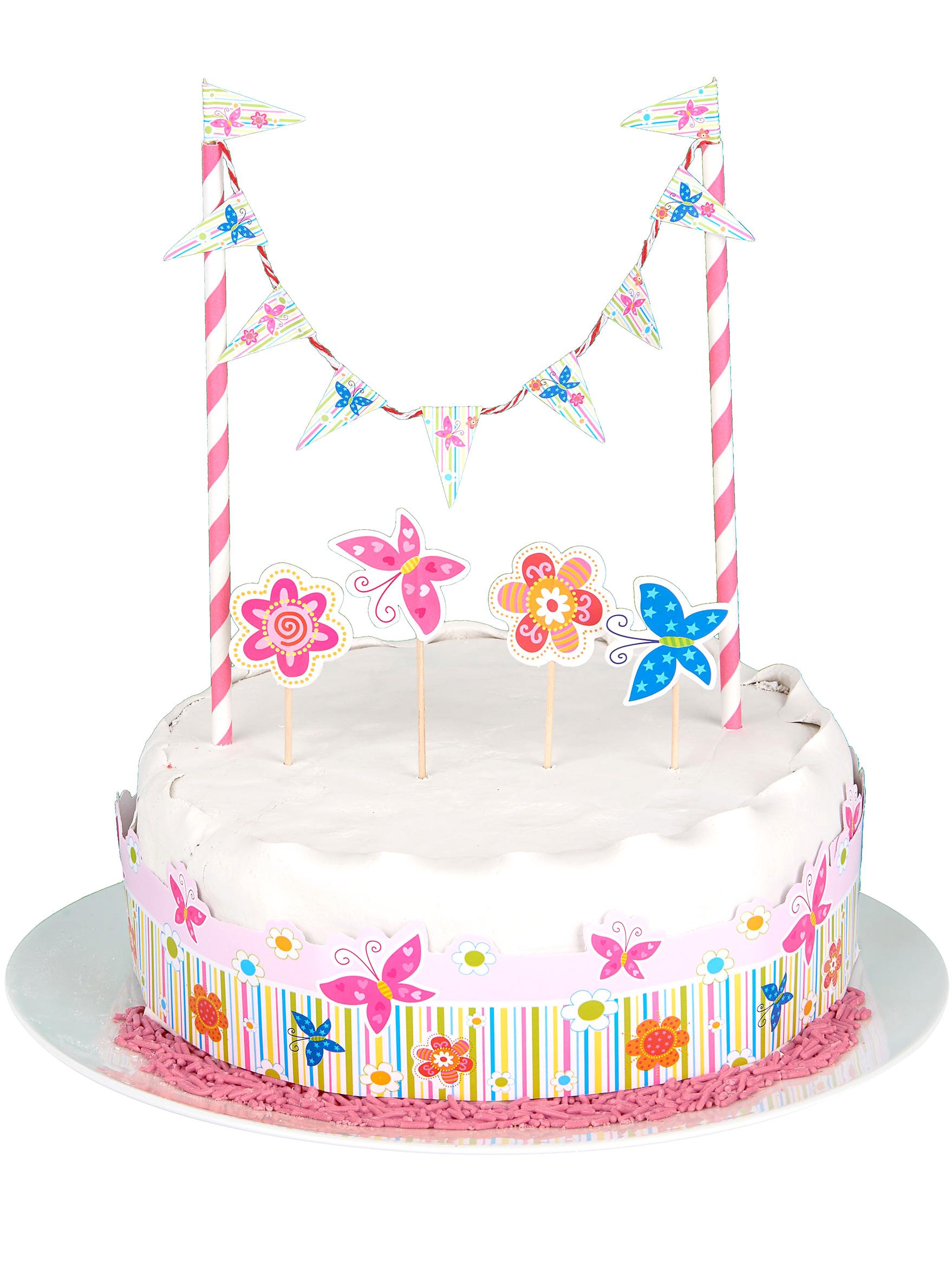 Decorazione per torte bambina addobbi e vestiti di carnevale online vegaoo - Decorazioni per torte di carnevale ...