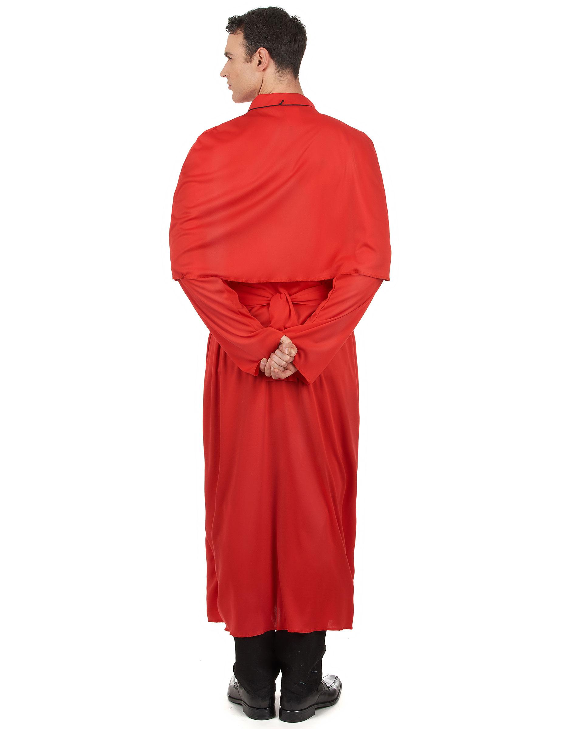 Vestito rosso prete