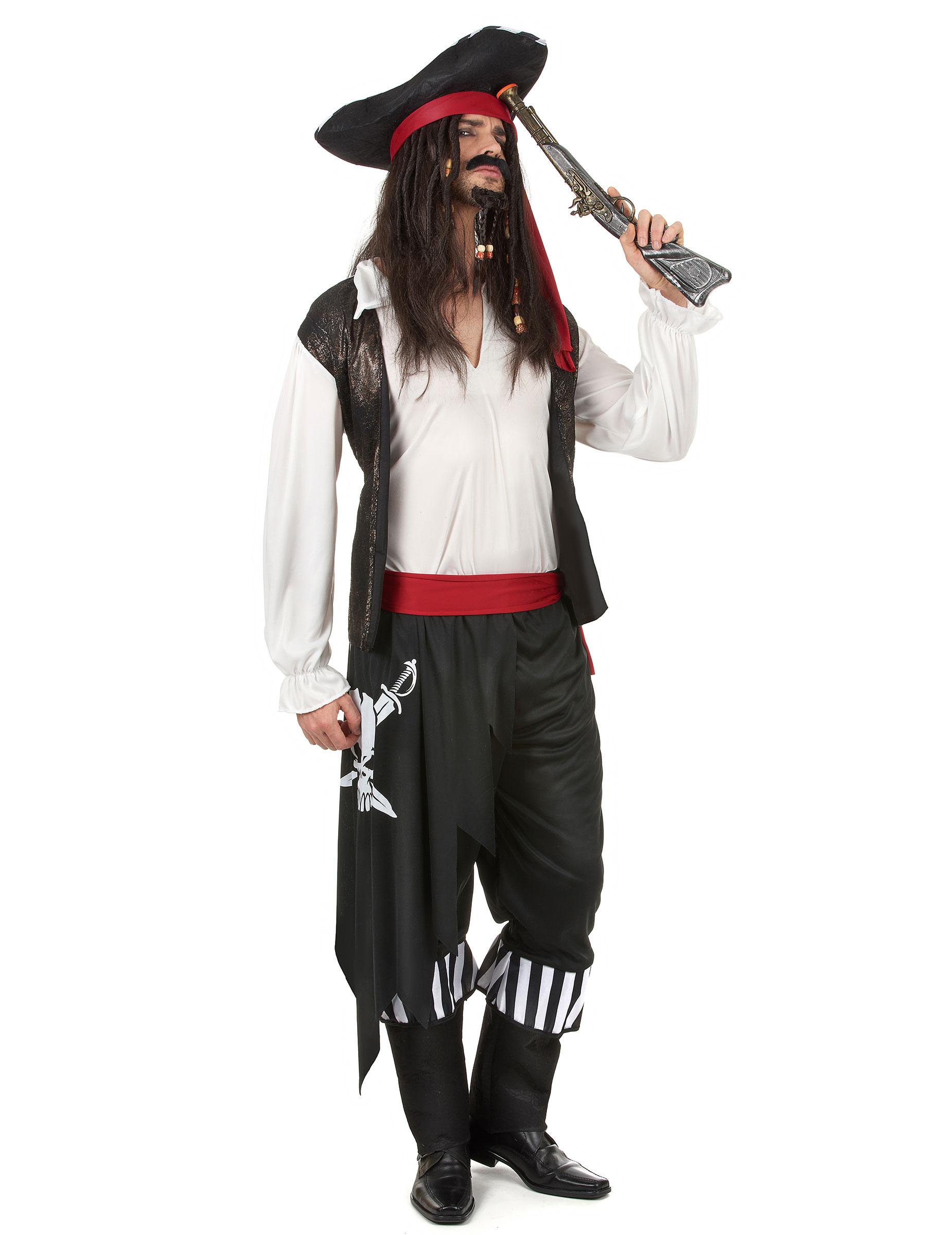 Costume da pirata per uomo - Pirata colorazione pirata stampabili ...
