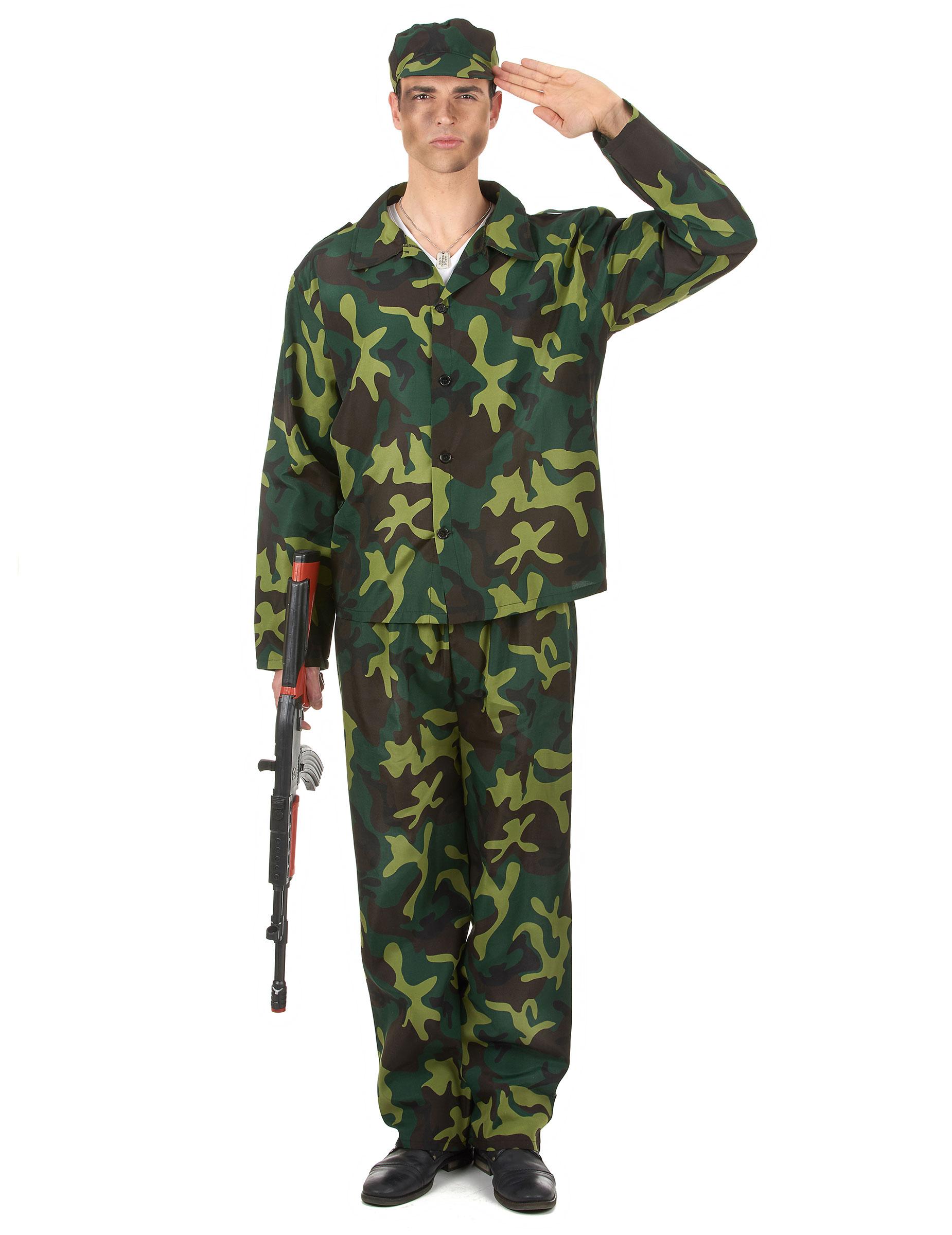 Costume da soldato per uomo  Costumi adulti 182d90f27124