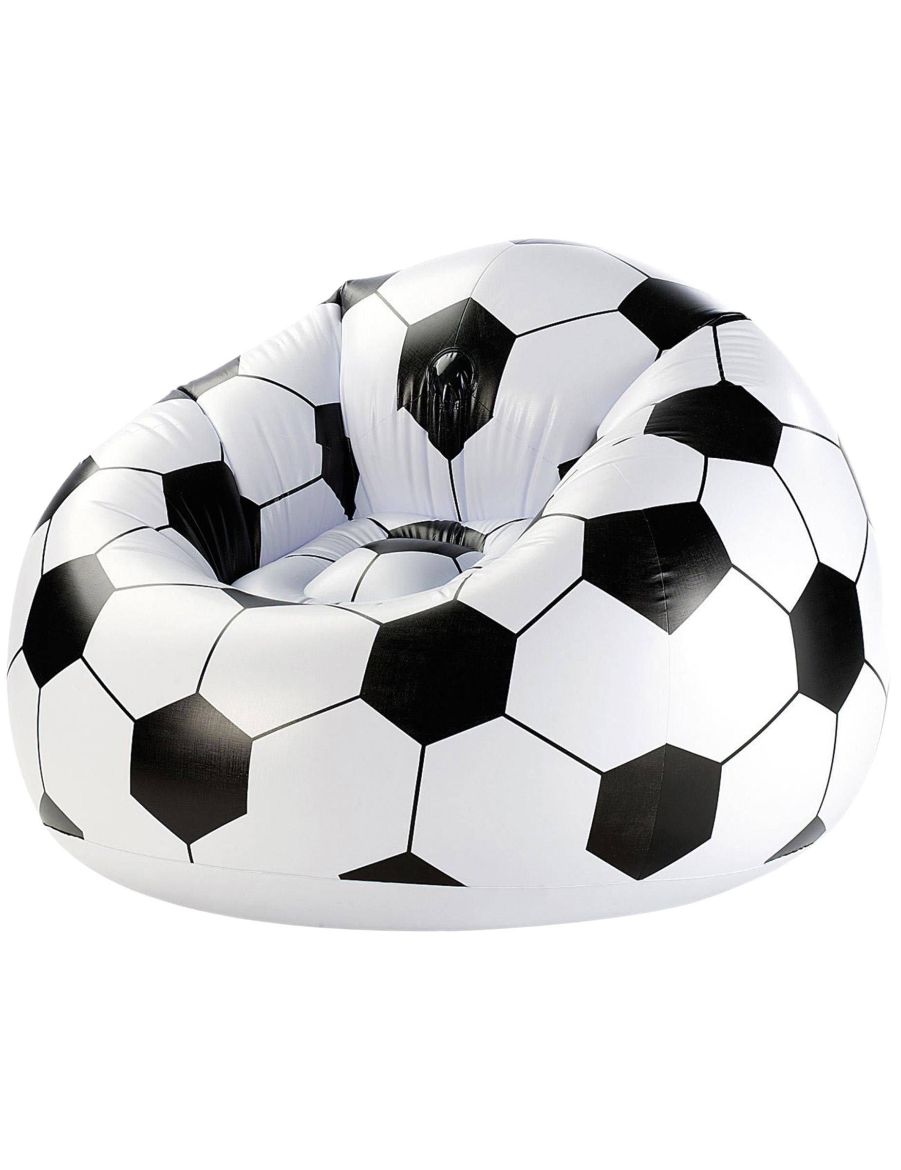 Poltrona gonfiabile pallone da calcio addobbi e vestiti - Pagina da colorare di un pallone da calcio ...