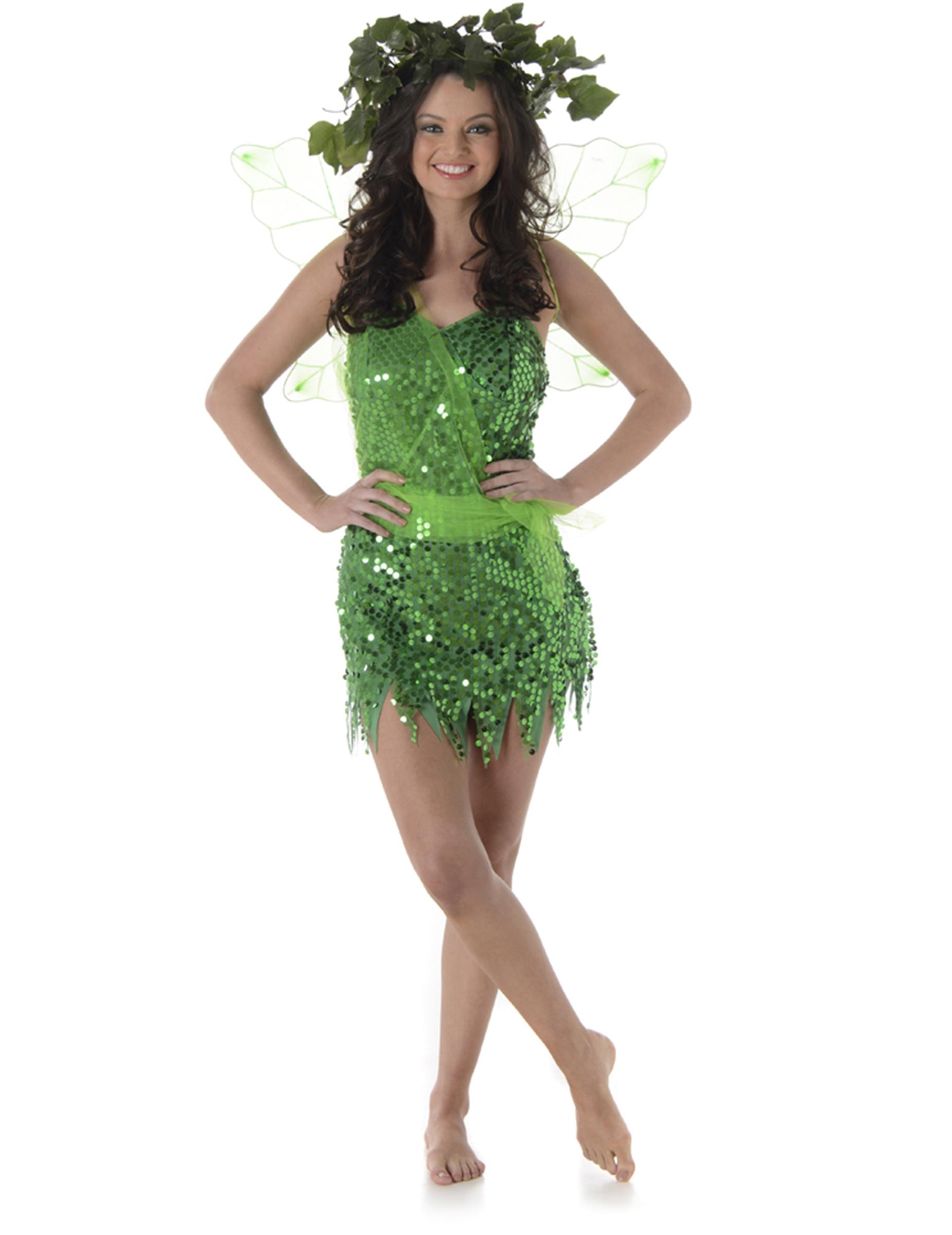 Estremamente Costume da fata donna: Costumi adulti,e vestiti di carnevale  CQ68