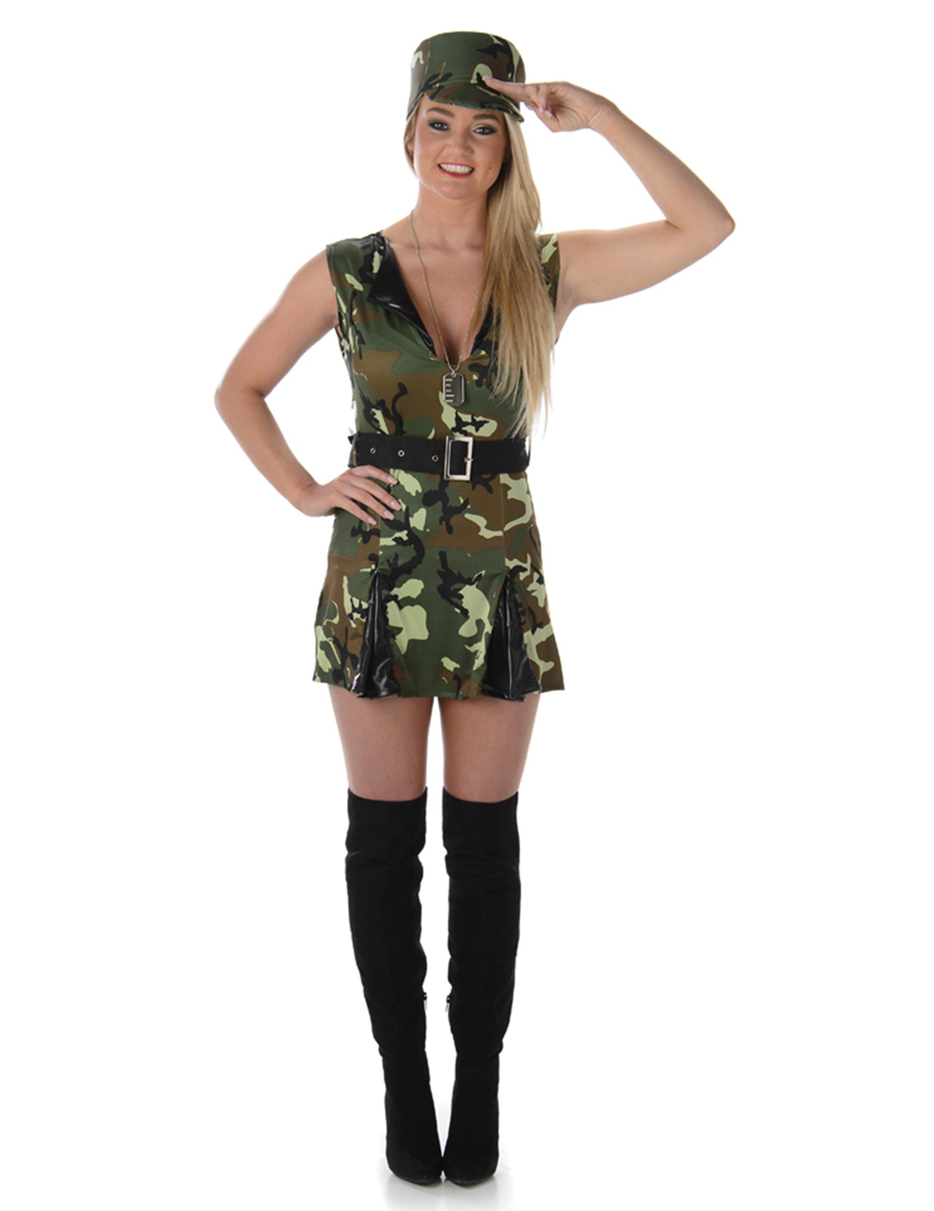 f1be204a6b39 Costume da soldatessa sexy per adulto: Costumi adulti,e vestiti di ...
