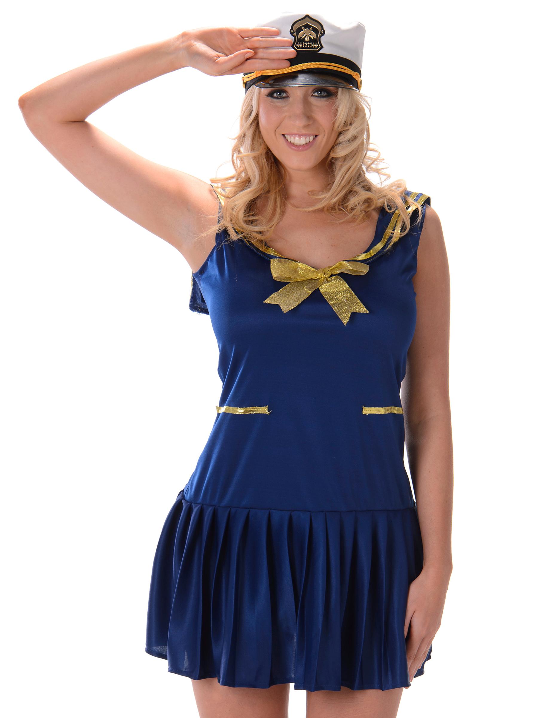 Marinaio Donna Costume Per 1 E Oro Da Blu q65Yw5xTS
