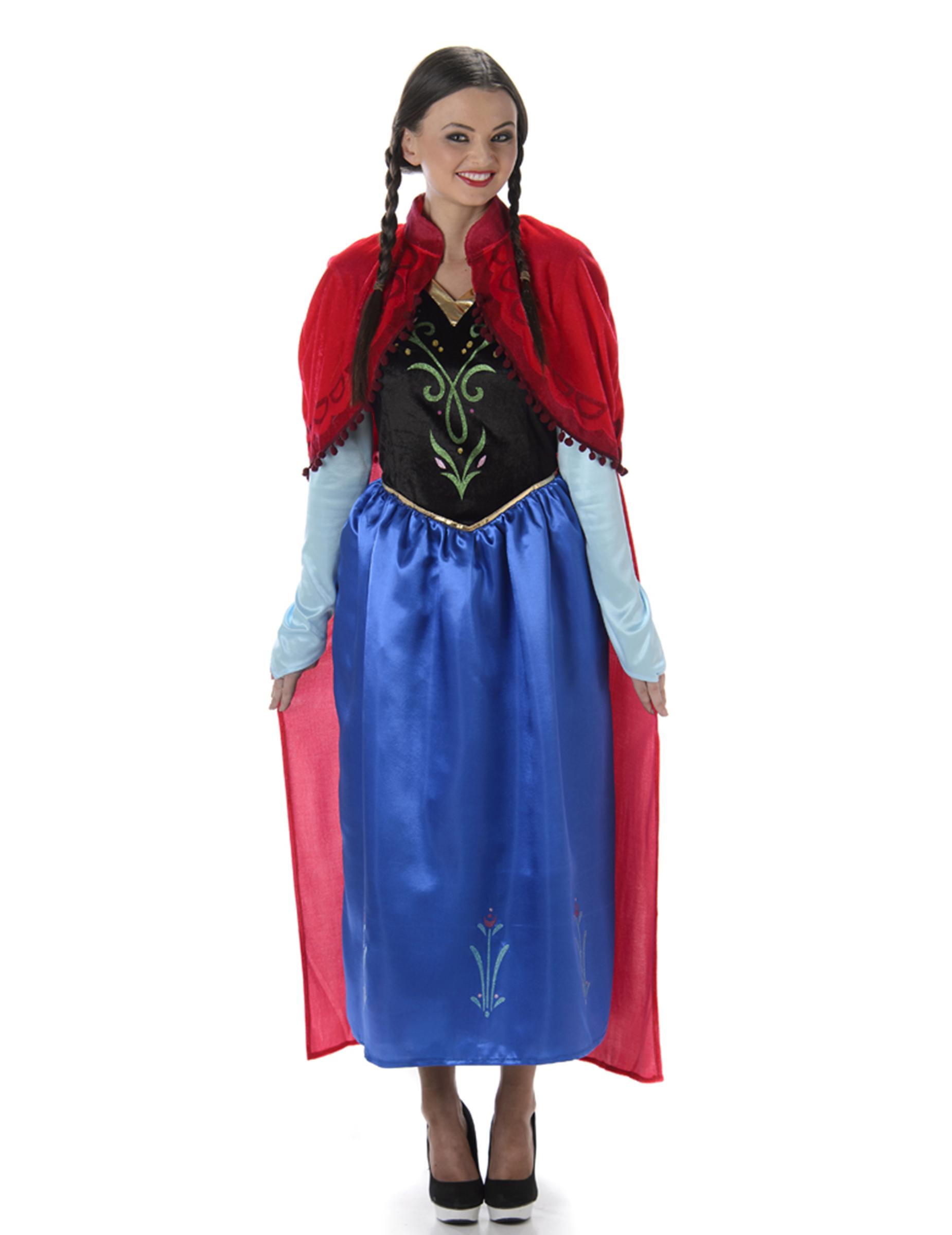 Costume principessa del ghiaccio per donna caf642b3b37