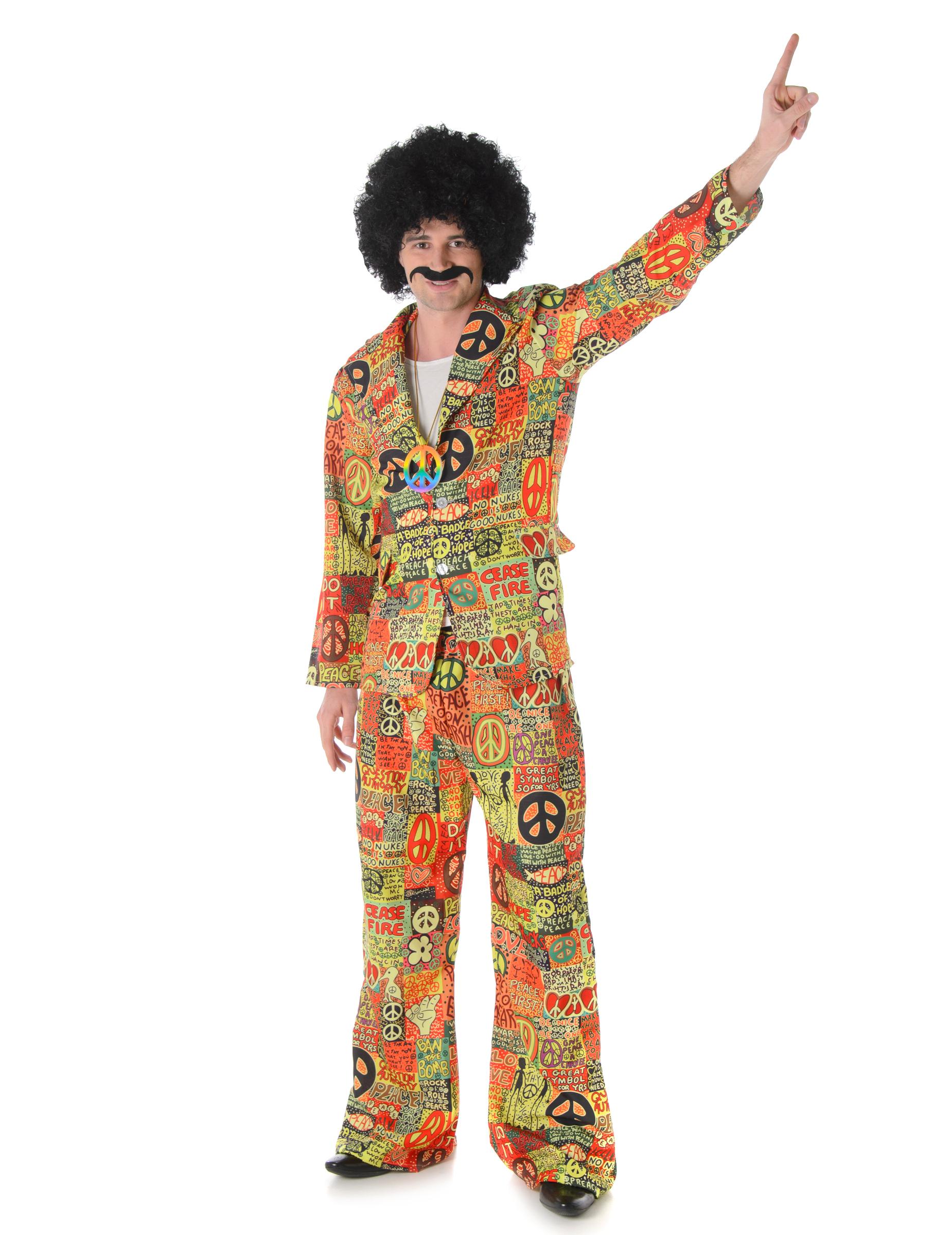 Costume da Hippie Peace Love per uomo  Costumi adulti 5a30d842e0c