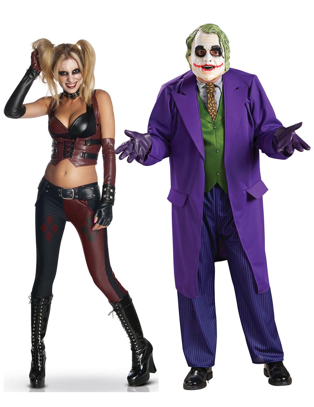 Travestimento coppia Harley Quinn™ e Joker™