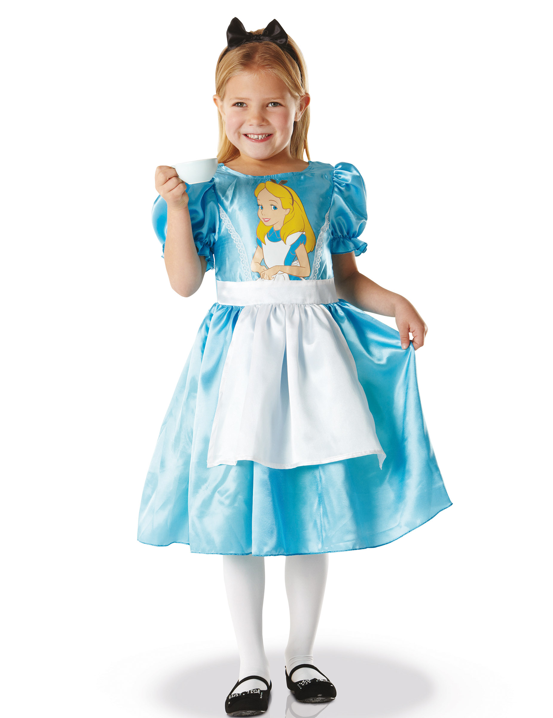 Costume carnevale regina bianca alice in wonderland