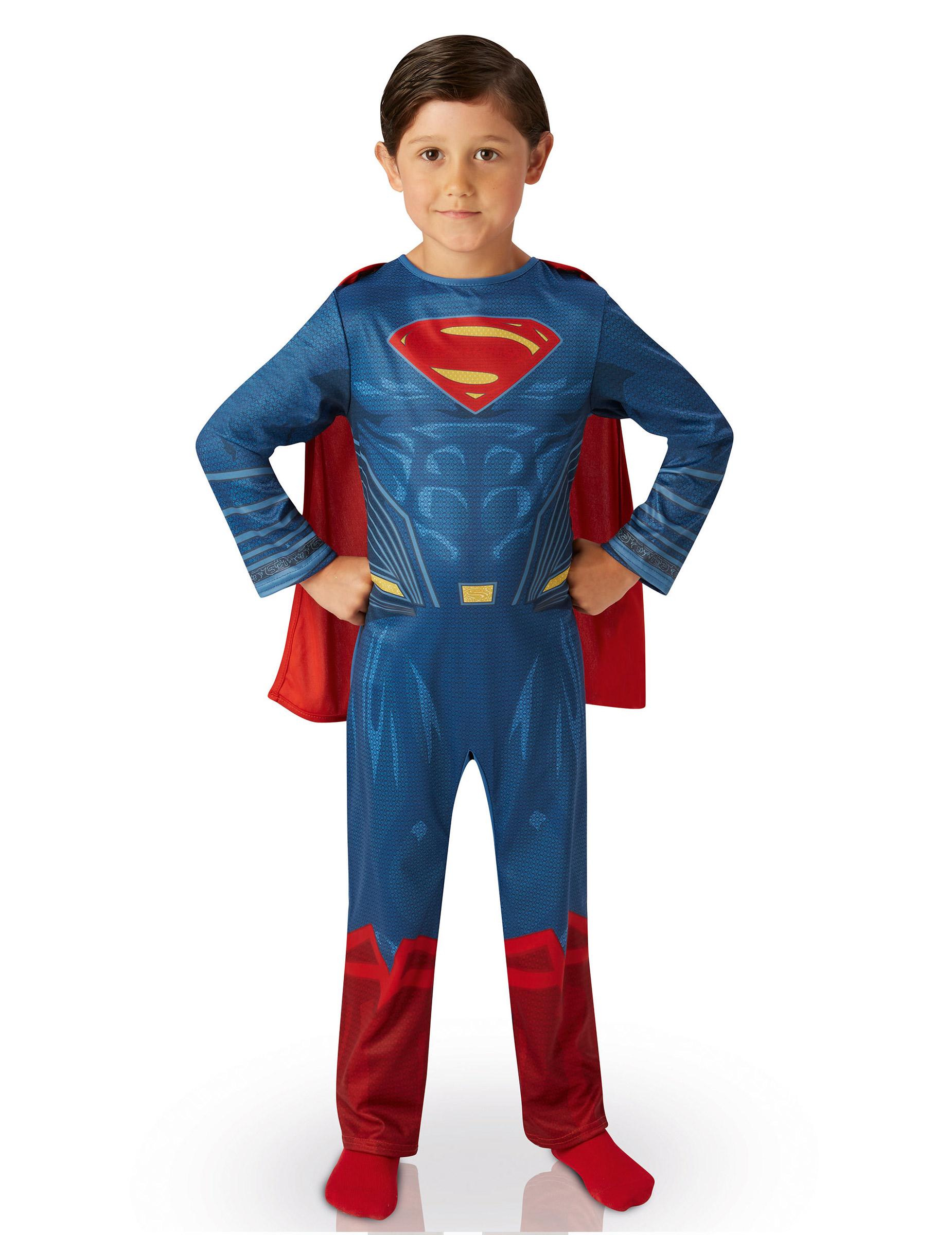 Costume Classico Da Superman Per Bambino Costumi Bambinie Vestiti