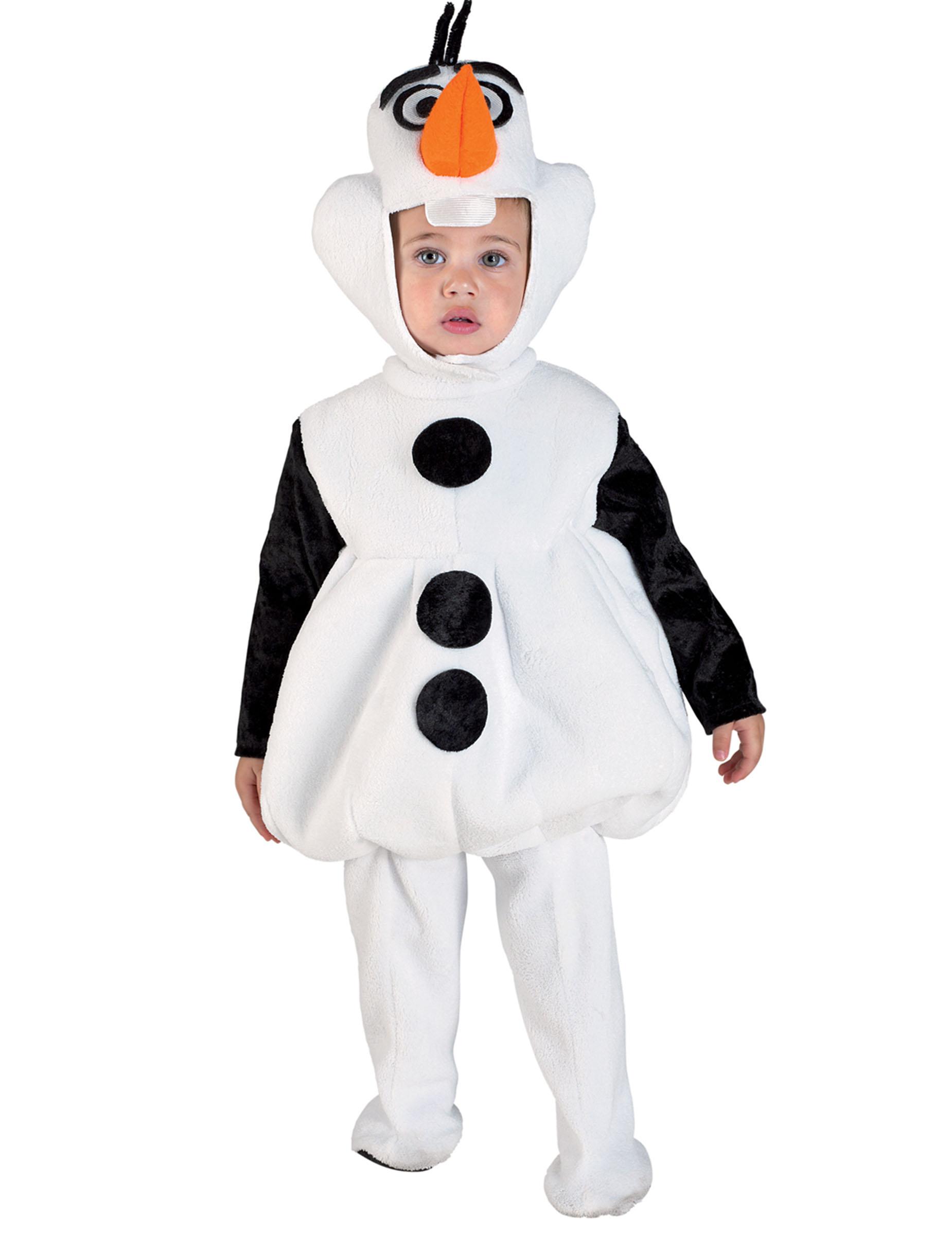 Costume da bambino Pupazzo di Neve-Natale Per Bambini Costume