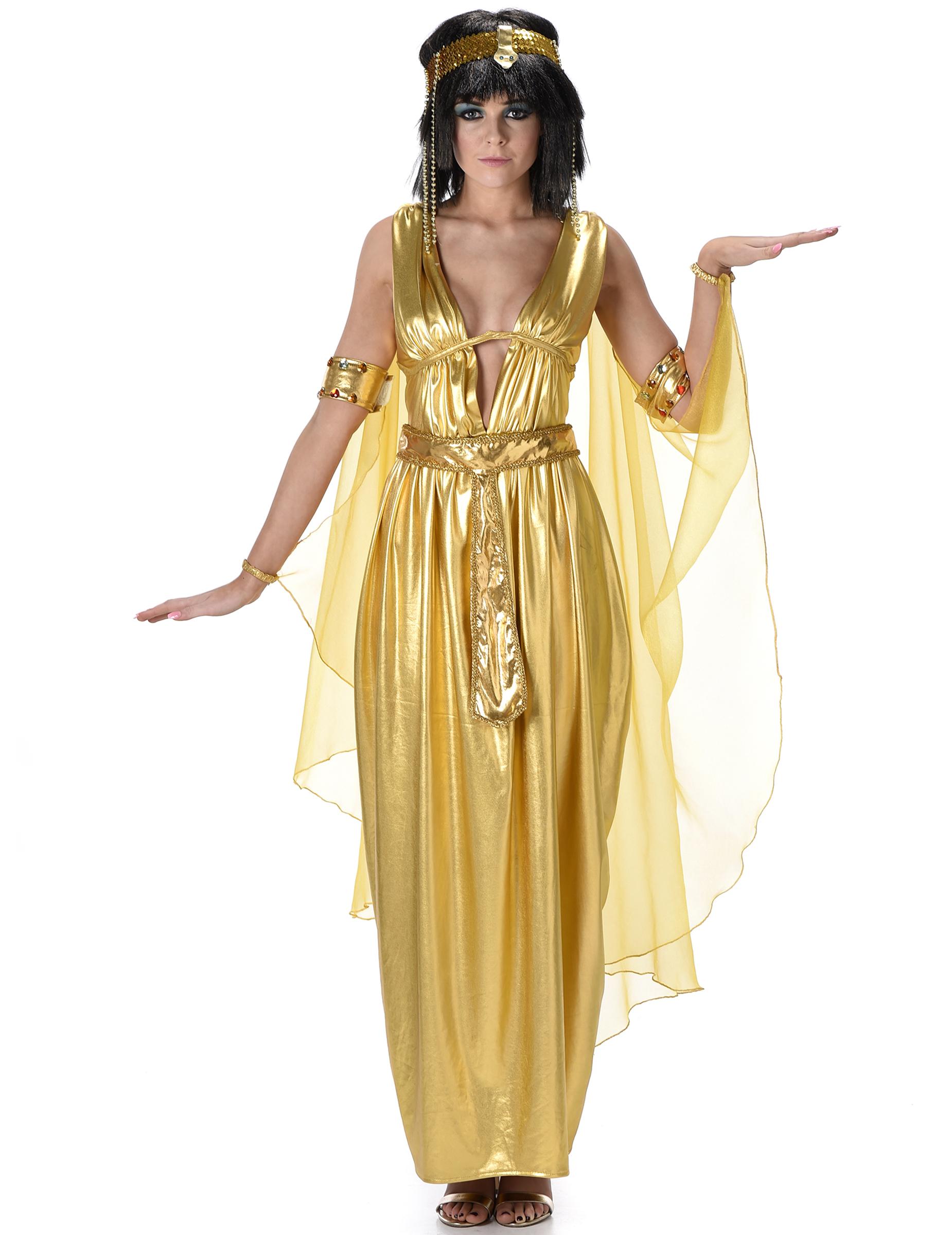 8bd35a7c034e Costume da Cleopatra oro per donna: Costumi adulti,e vestiti di ...