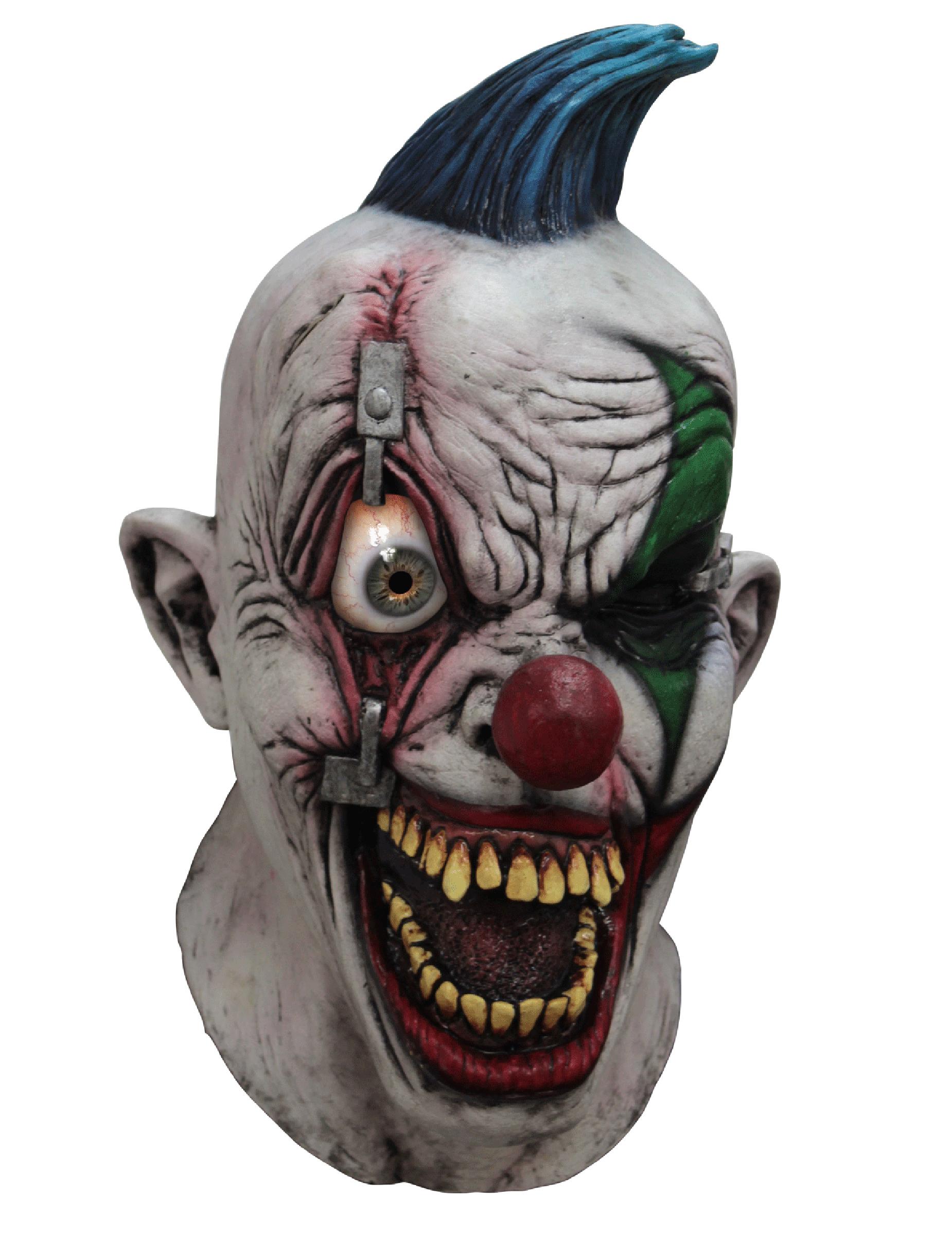 Halloween Maschere.Maschera Integrale Da Clown Agghiacciante Halloween