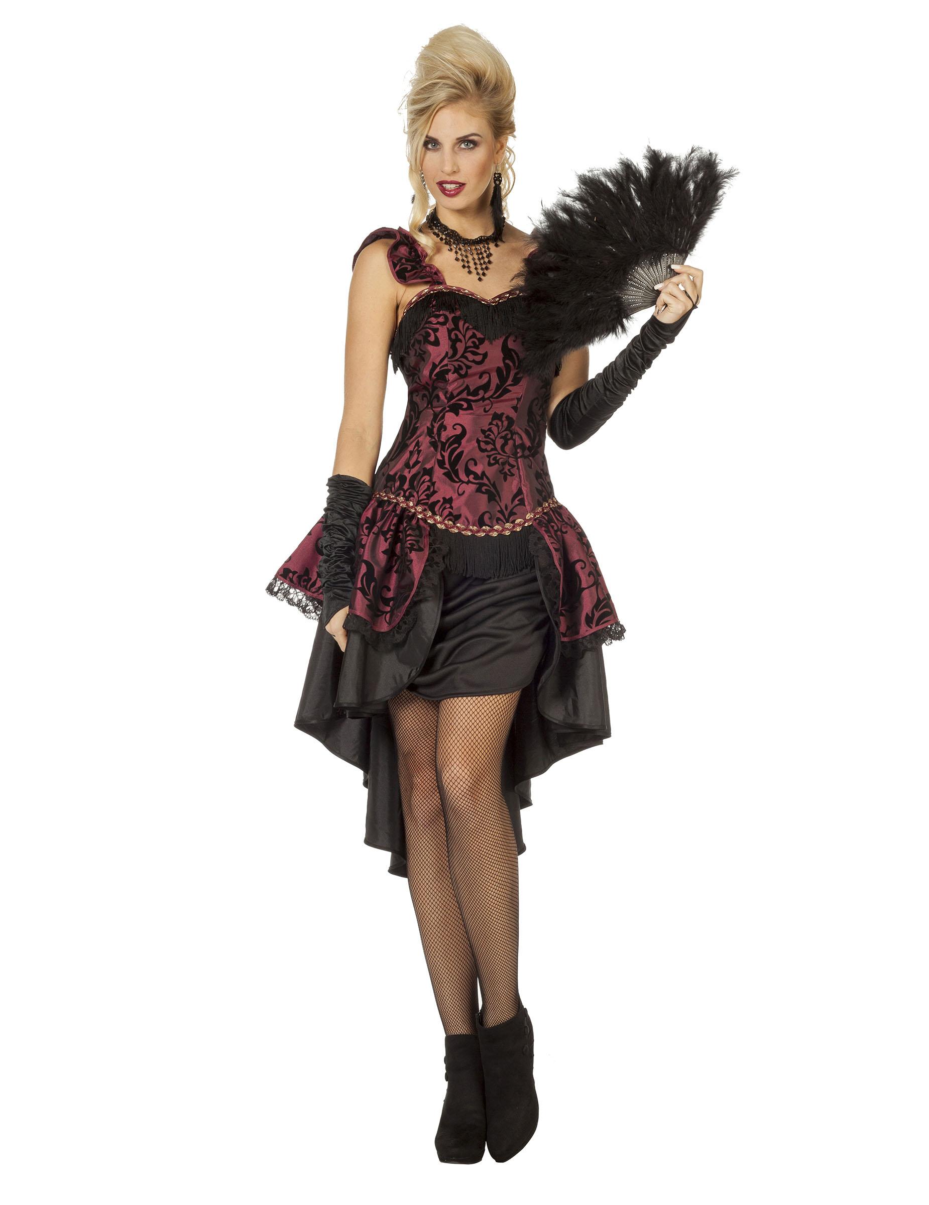 Costume burlesque sexy per donna