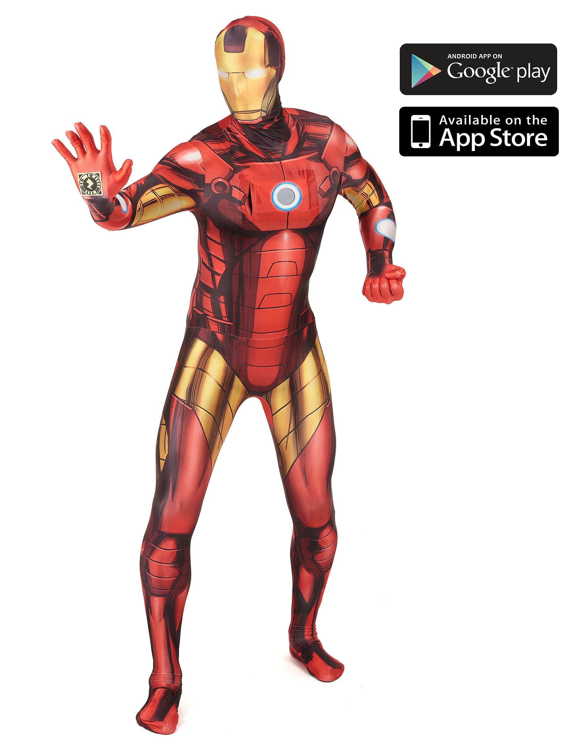 prezzo abbordabile caldo-vendita migliori scarpe da ginnastica Costume Morphsuits™ Zappar Iron man™ adulto