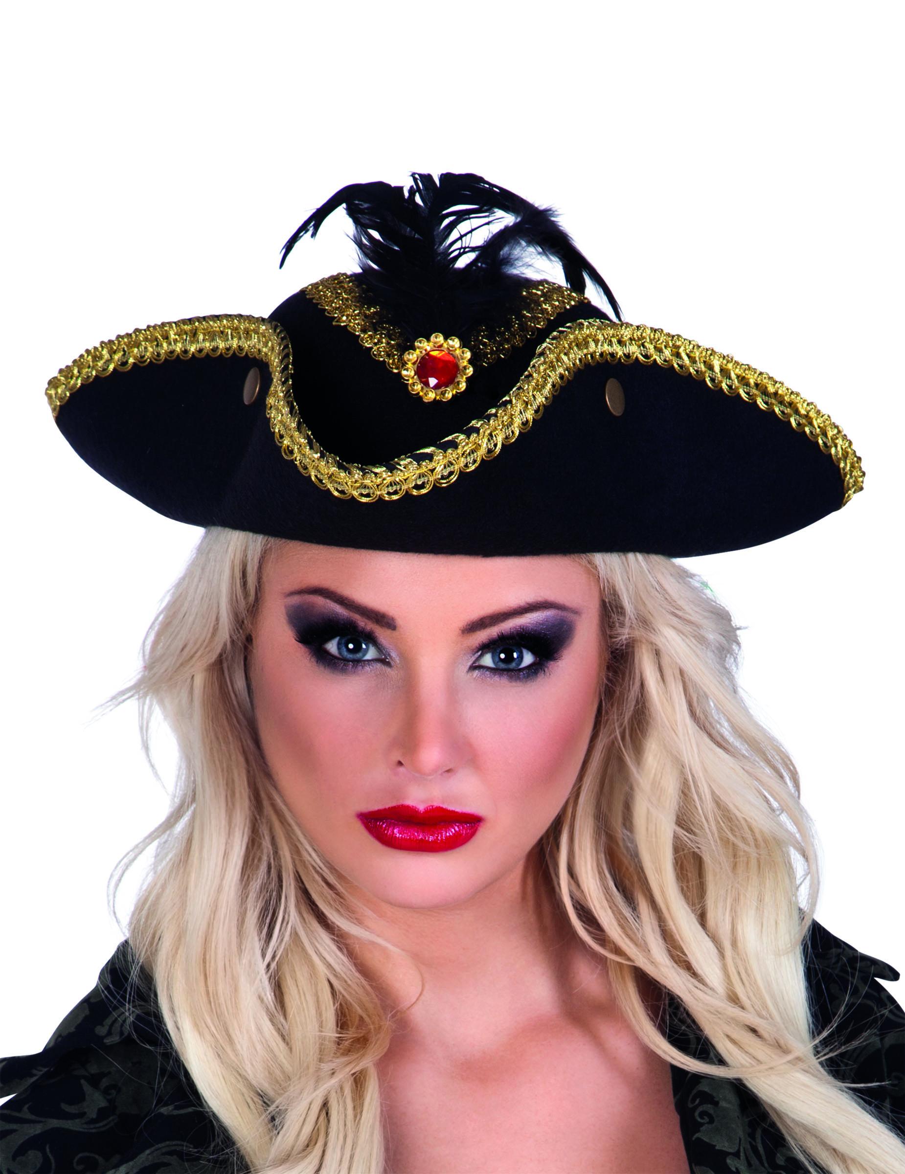 Cappello da pirata donna