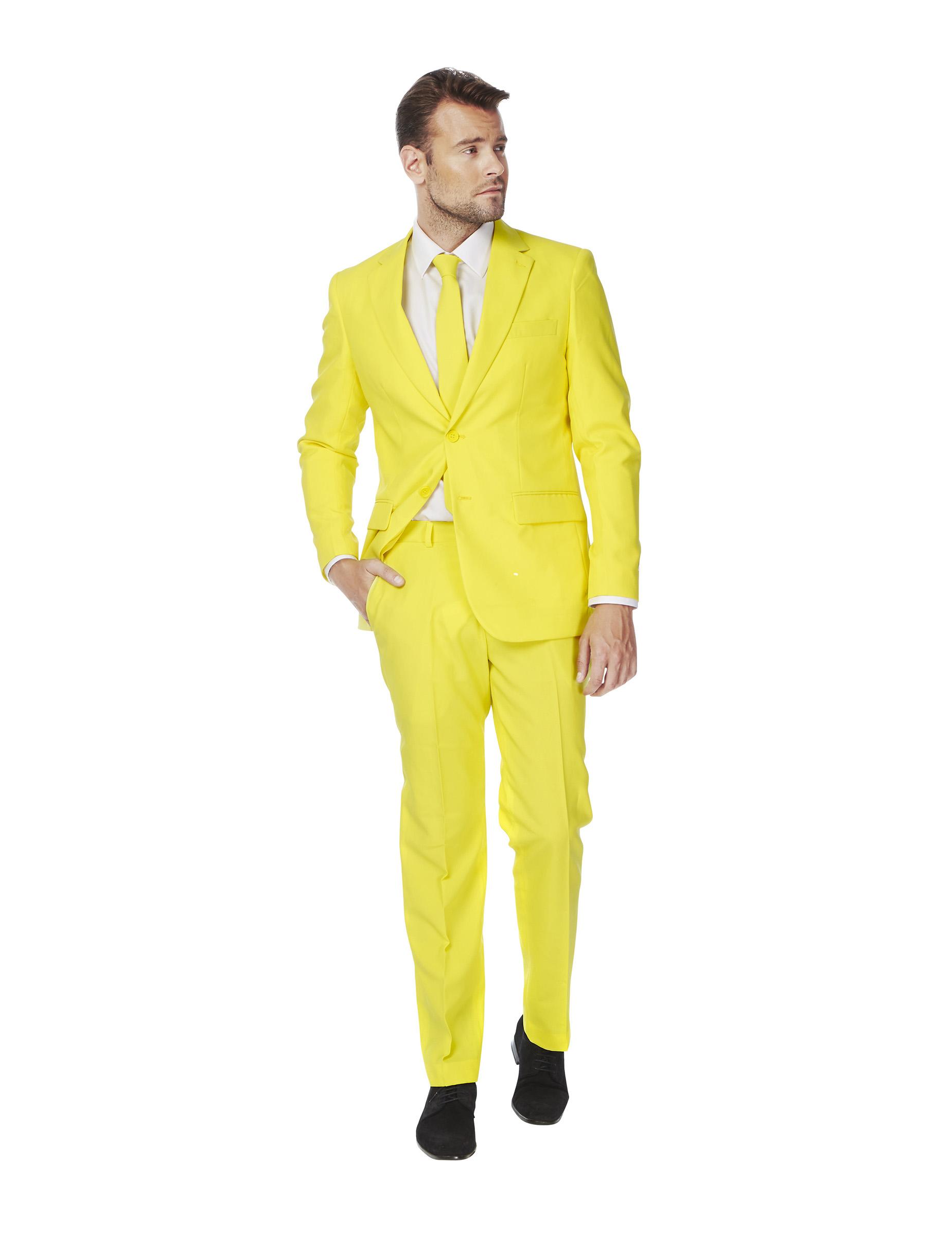 Super Costume Mr. giallo per uomo Opposuits™ : Costumi adulti,e vestiti  GT28