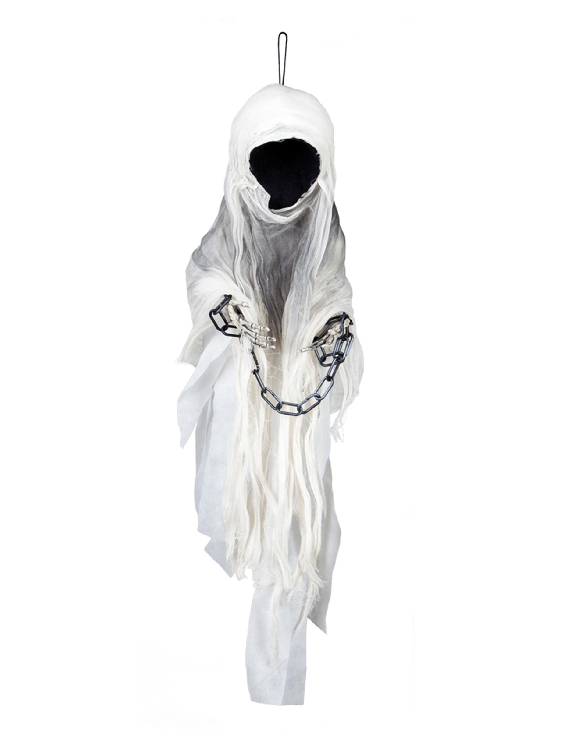Decorazione Di Halloween Fantasma Incatenato 100 Cm
