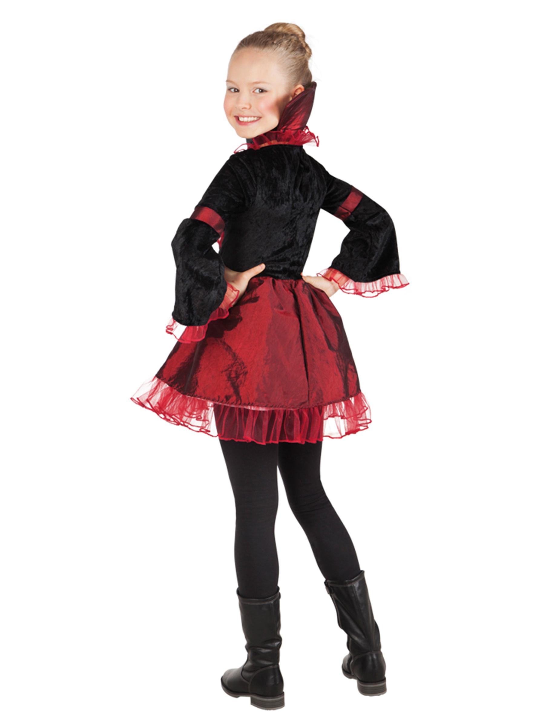Costume imperatrice vampira bambina Halloween  Costumi bambini a4a24847daf1