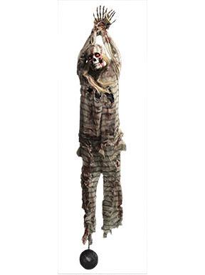 Decorazione Di Halloween Scheletro Prigioniero Addobbi E
