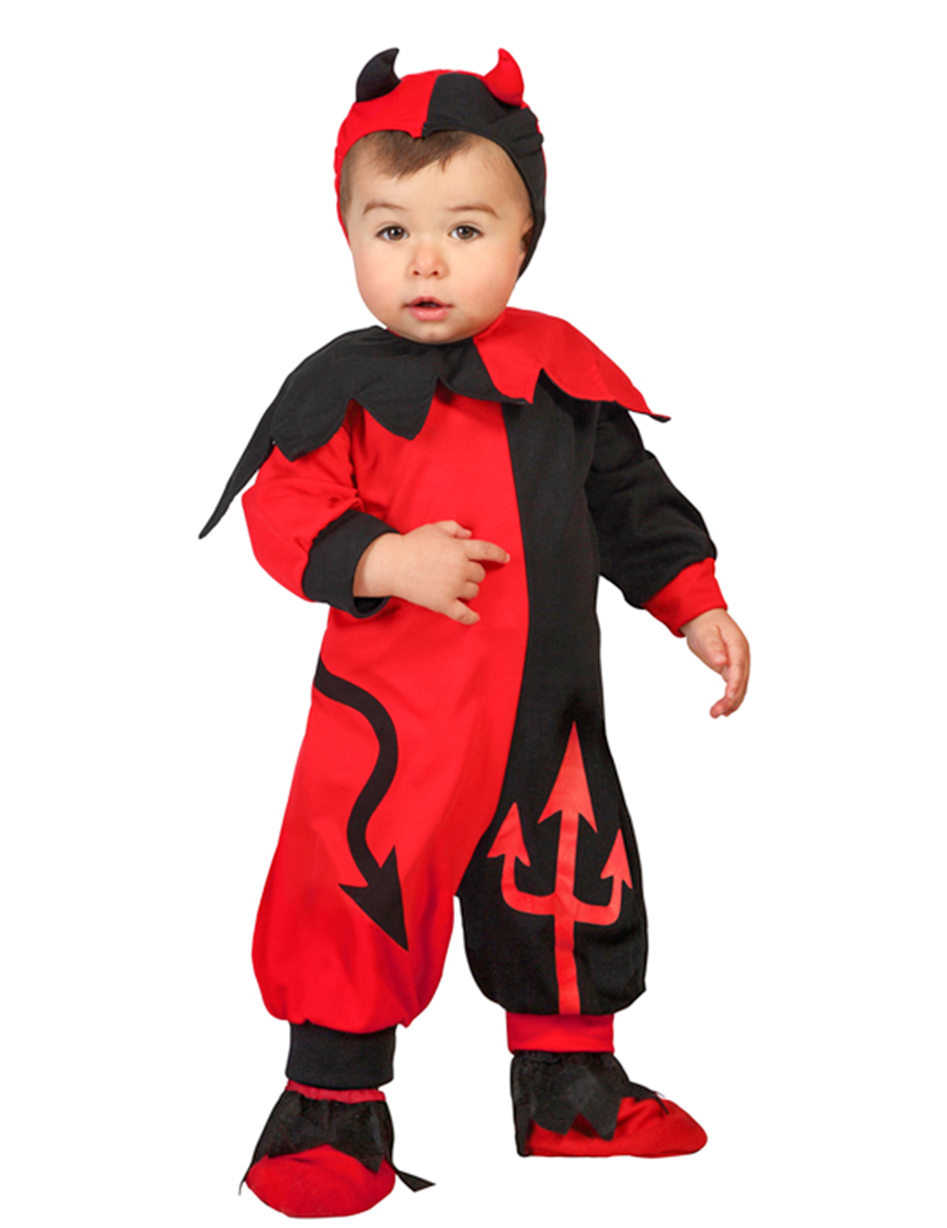 Costume diavoletto di halloween neonato costumi bambini e vestiti di carnevale online vegaoo - Costume bagno neonato ...