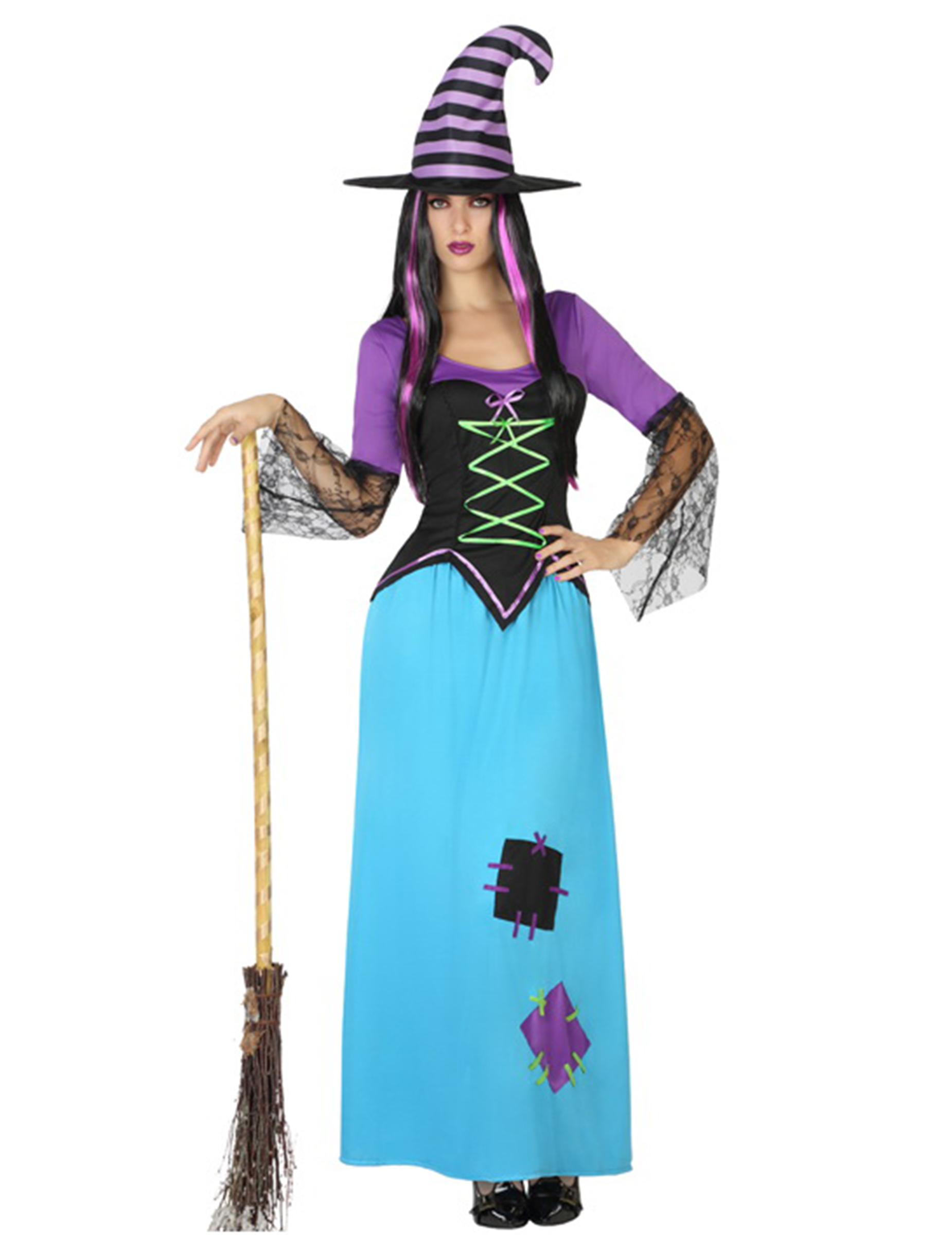 costume strega halloween costumi adulti e vestiti di carnevale online vegaoo. Black Bedroom Furniture Sets. Home Design Ideas