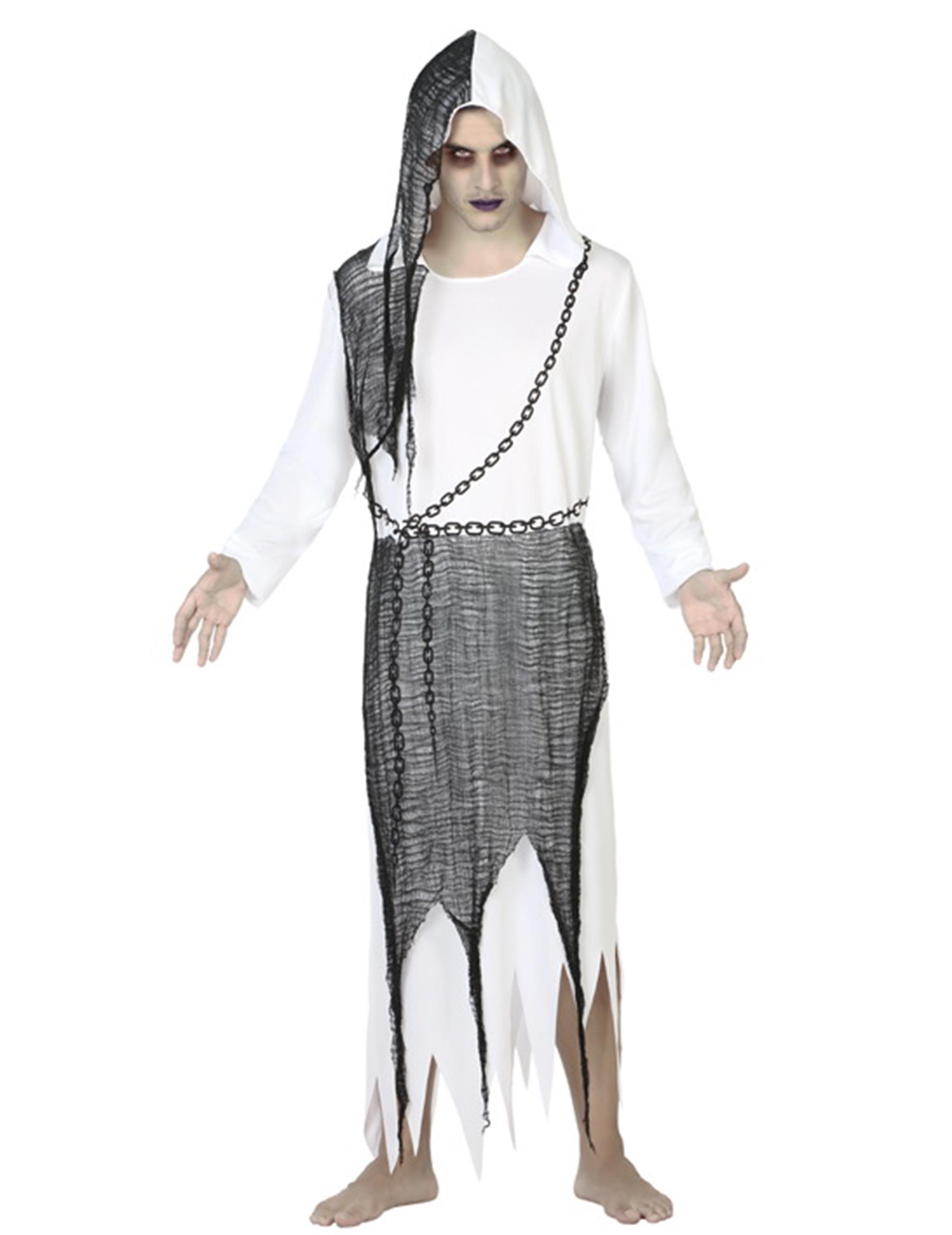 446d2e95f650 Costume da fantasma uomo per Halloween: Costumi adulti,e vestiti di ...