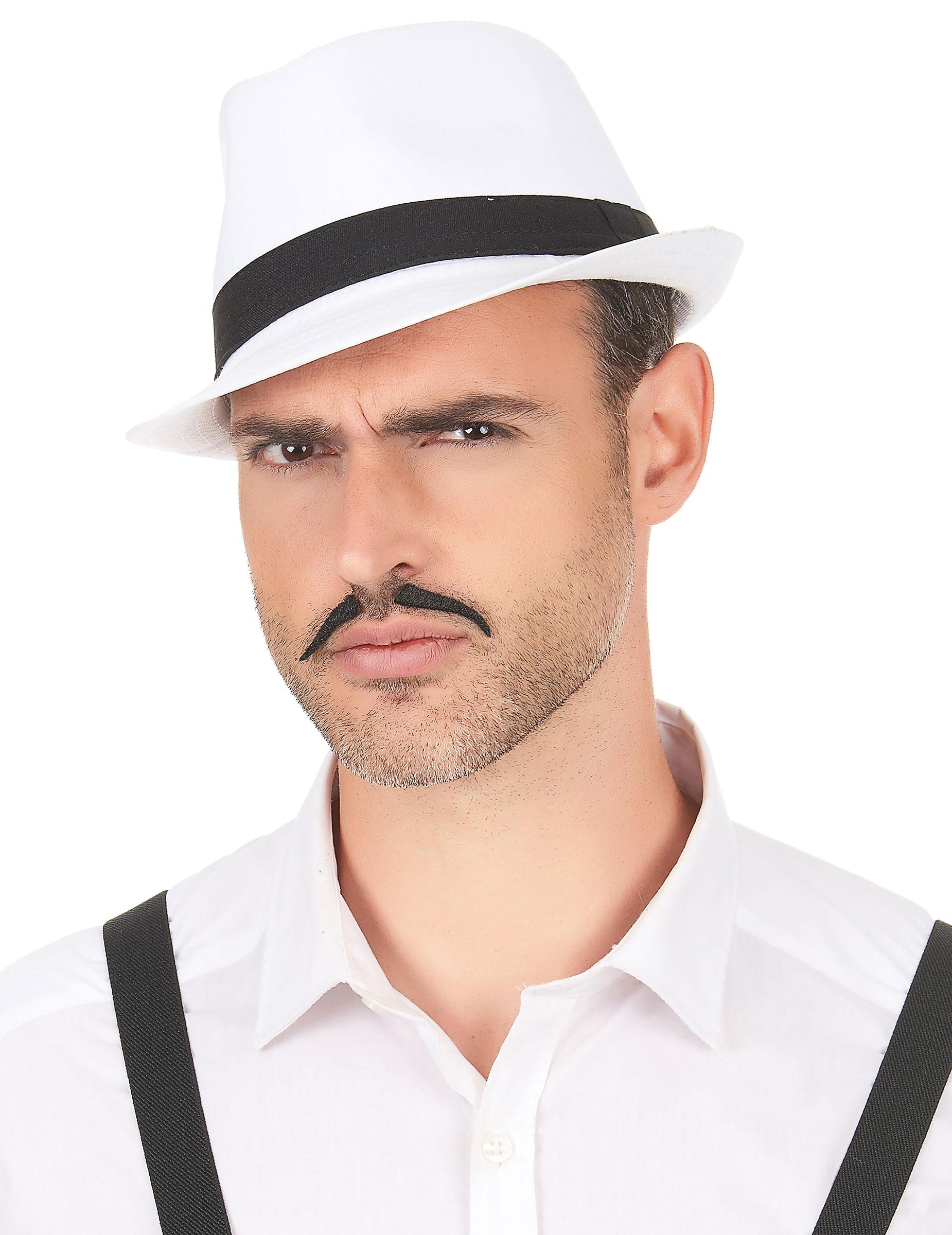 Cappello borsalino con fascia nera adulto  Cappelli 3902e7db444c
