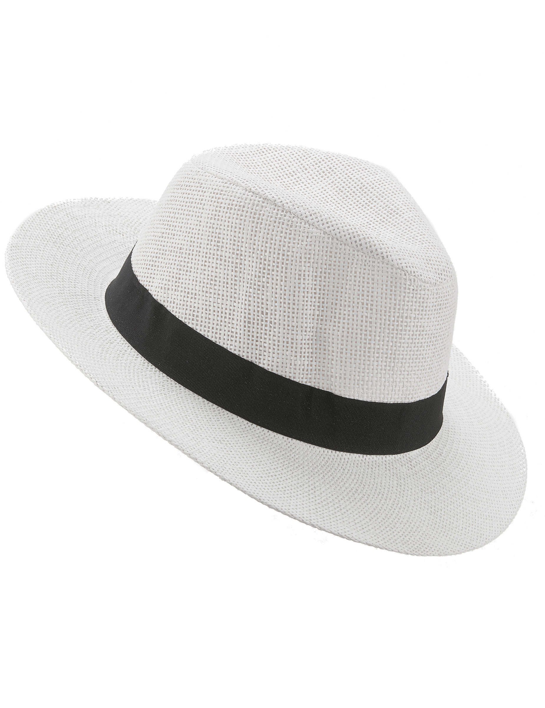Cappello Panama bianco adulto  Cappelli 79a79cad7484