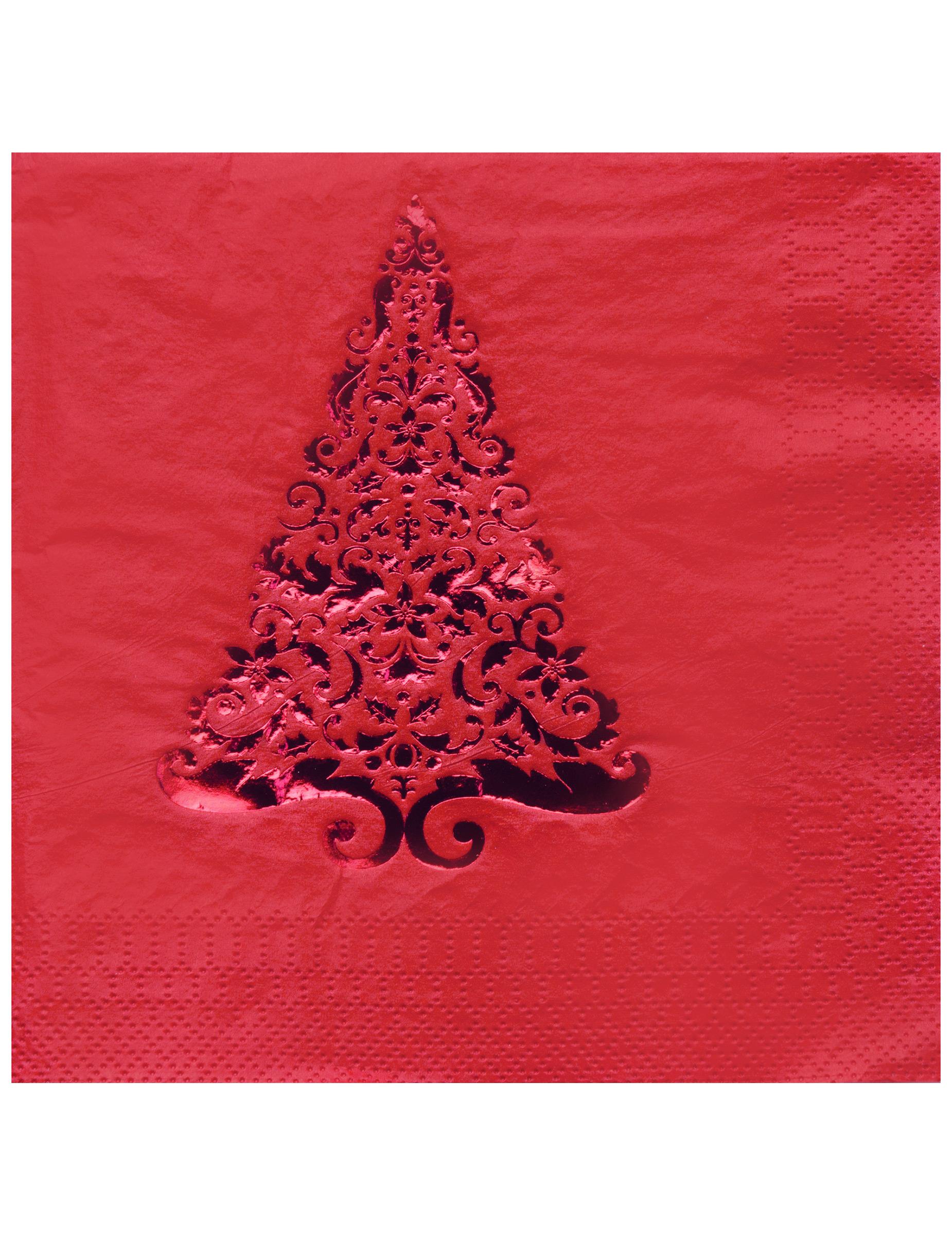 16 tovaglioli di carta abete rosso - Tovaglioli di carta decorati ...