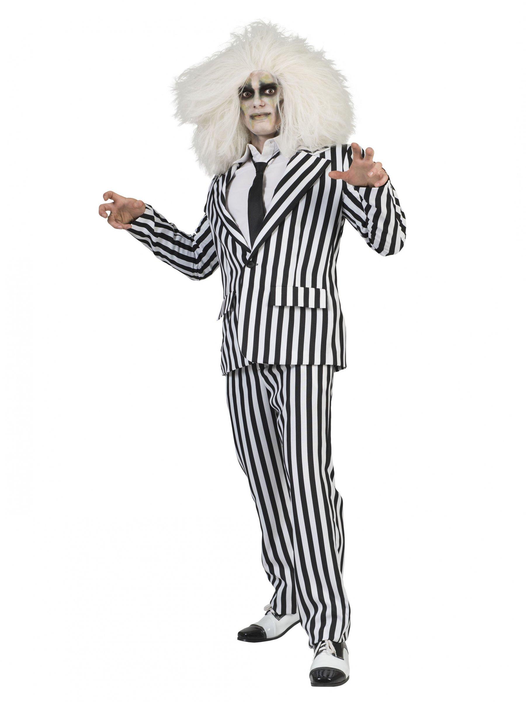 san francisco fe71f de836 Abito classico da uomo a righe bianche e nere: Costumi ...