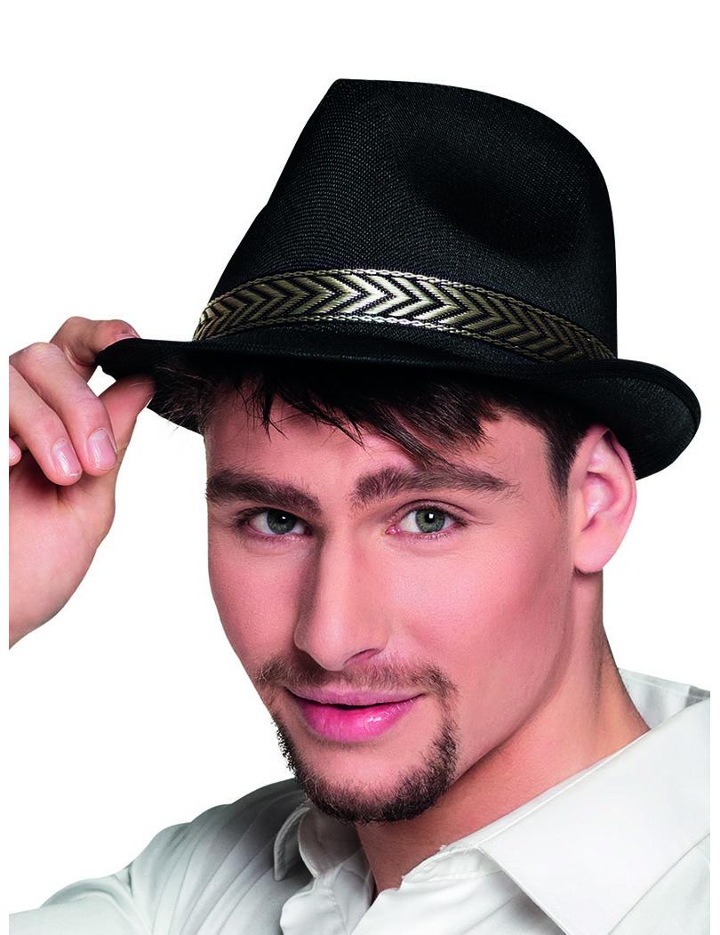 Cappello borsalino nero per adulto  Cappelli 1b0b2b1350fb