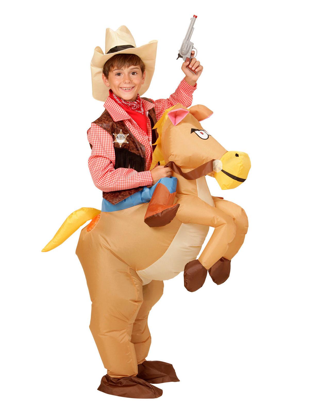 prezzo all'ingrosso vasta gamma nuovi prezzi più bassi Costume cavallo del west per bambino