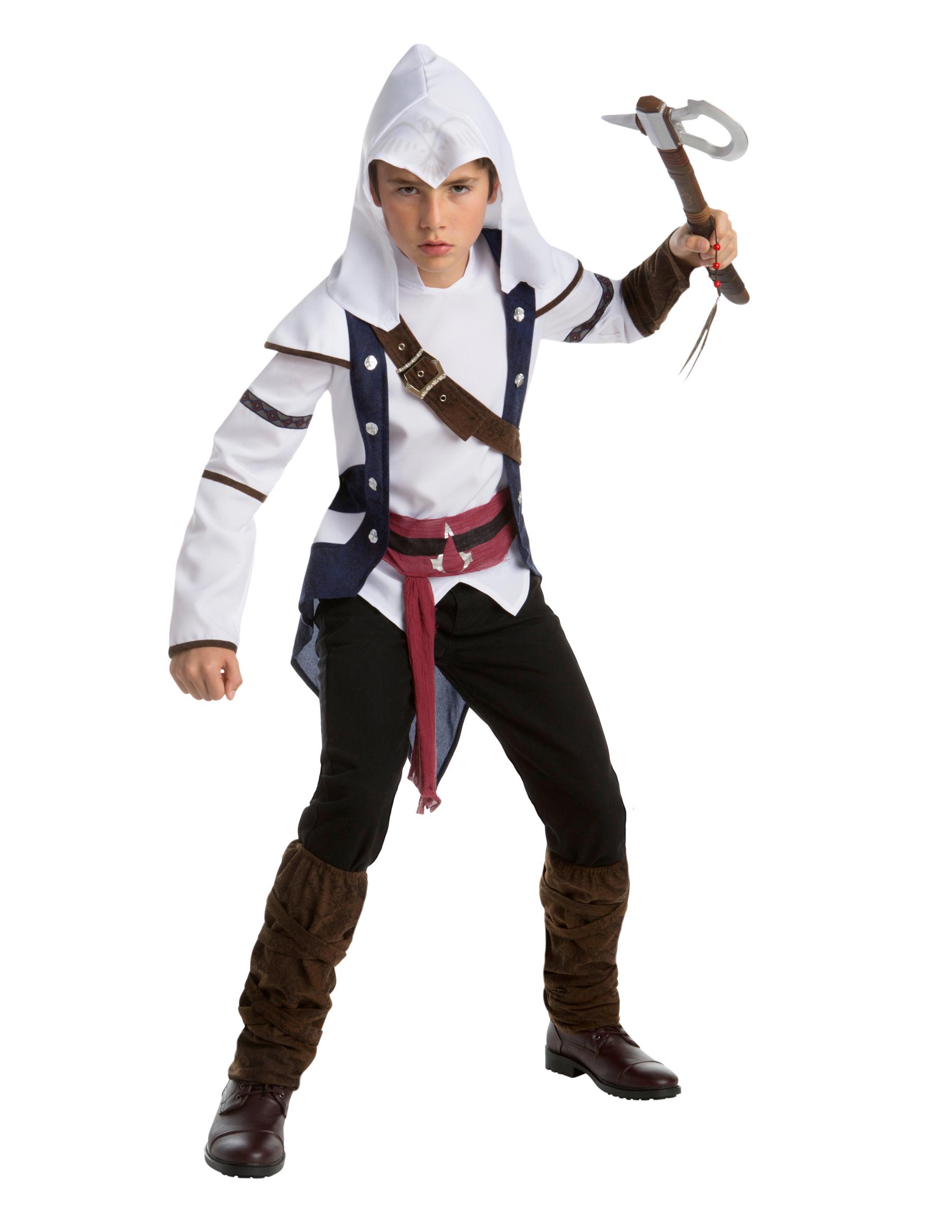 Costume classico Connor - Assassin's Creed™ adolescente ...