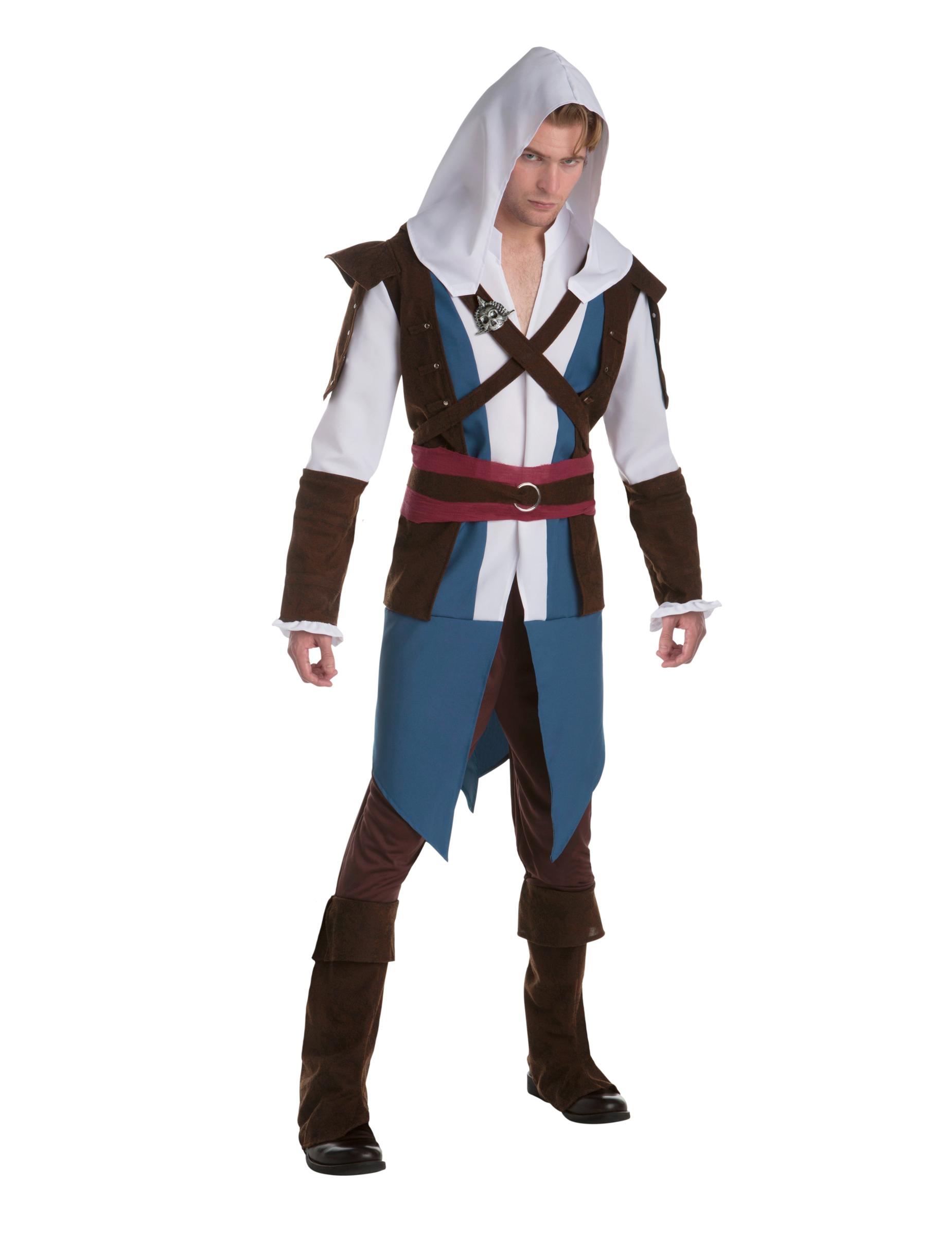 costume classico edward assassin 39 s creed adulta costumi adulti e vestiti di carnevale online. Black Bedroom Furniture Sets. Home Design Ideas