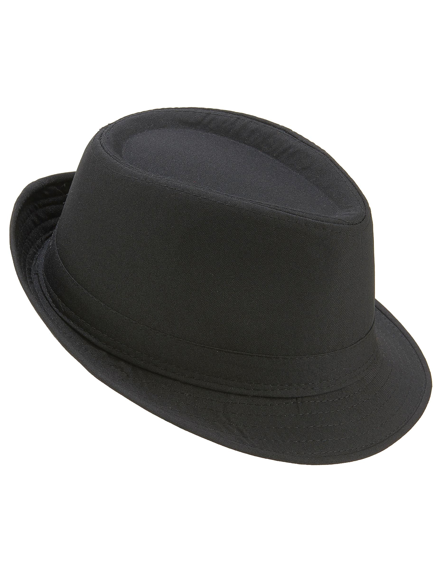 Cappello borsalino nero adulto  Cappelli 1fcaa7499ce9
