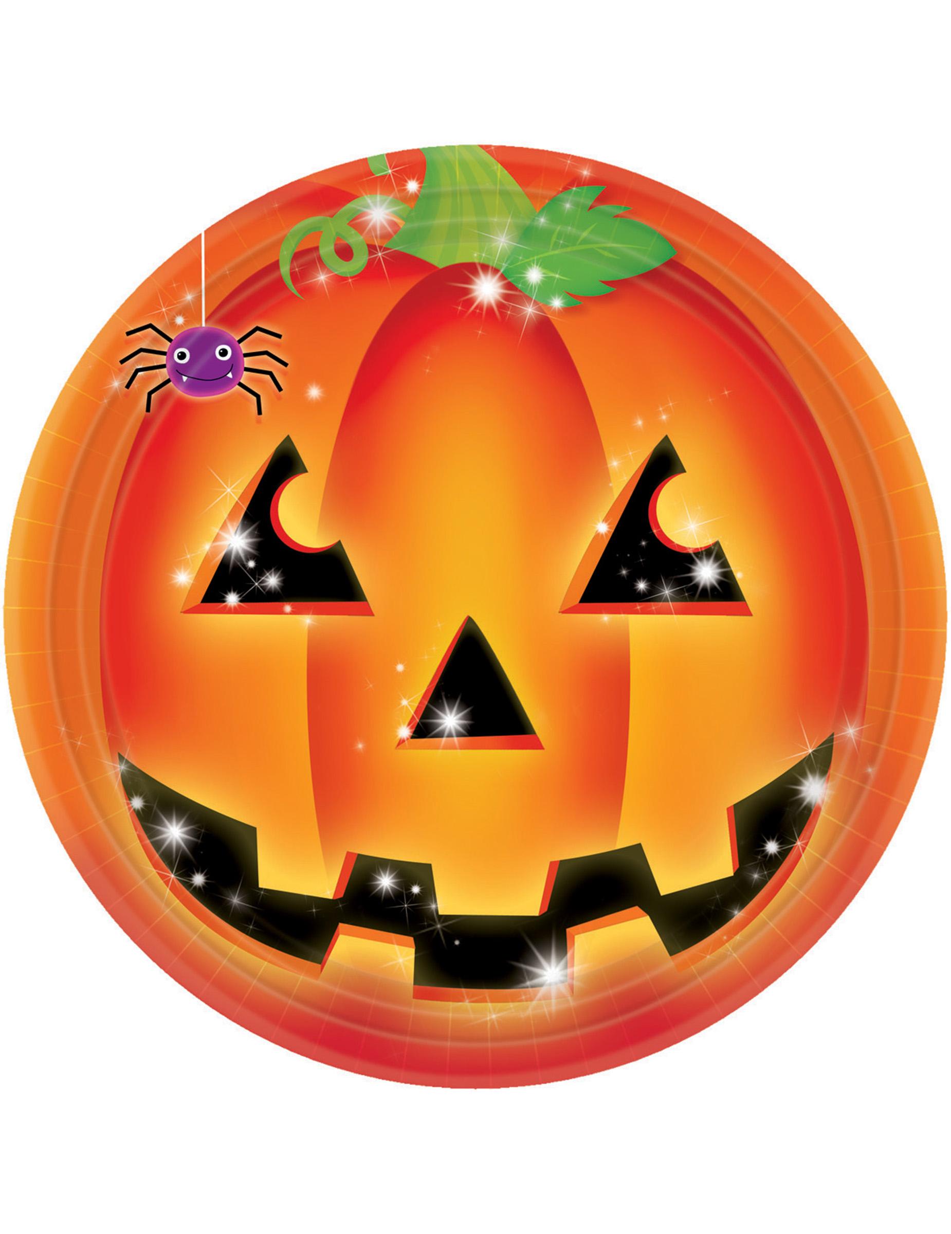 8 piatti zucca halloween da d7e8c5b2349f