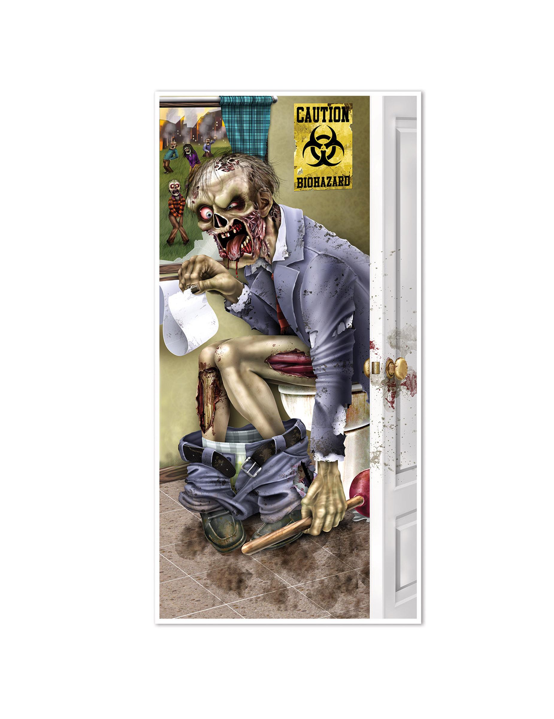 Decorazione per porta zombie al bagno: addobbi,e vestiti di ...