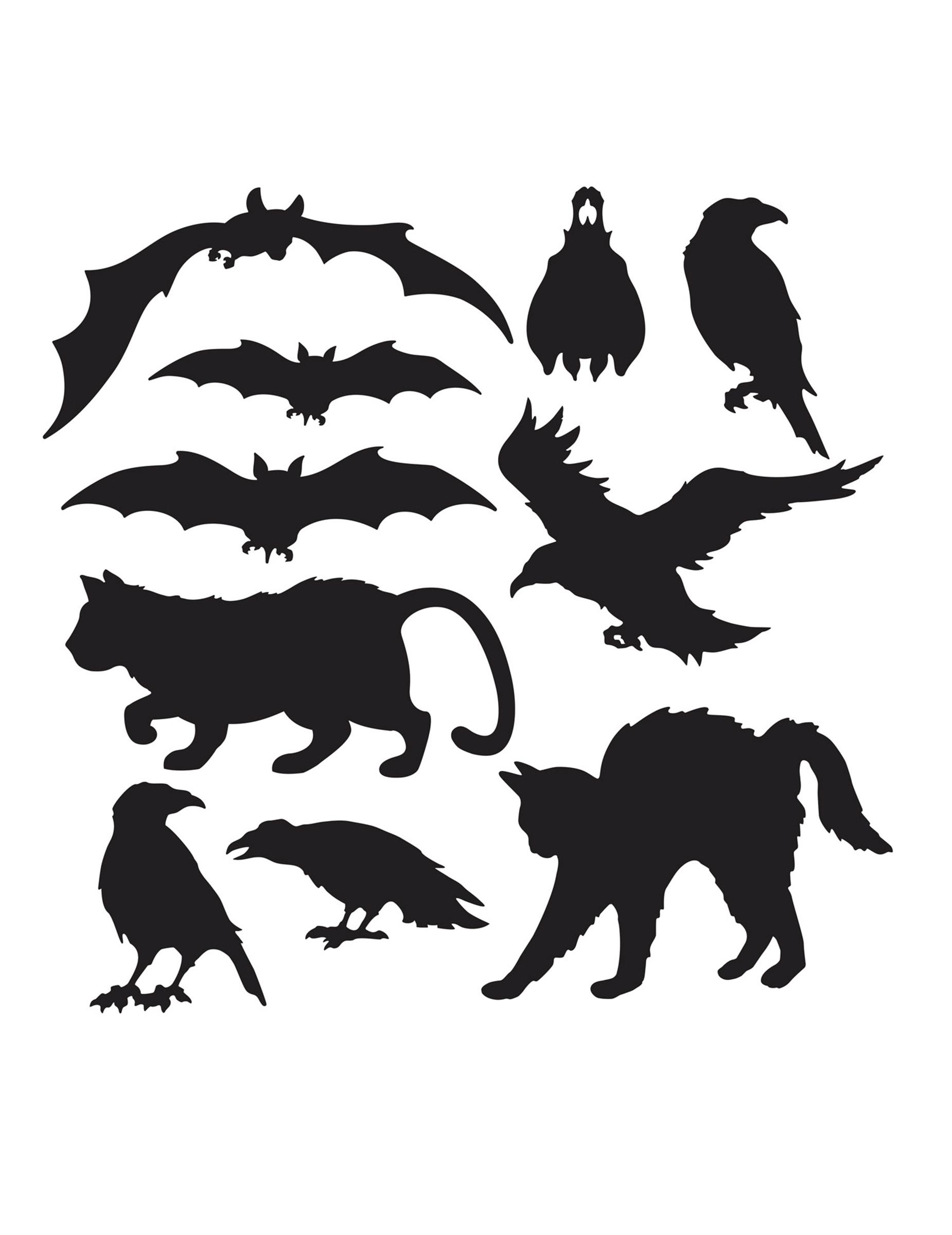 10 decorazioni di carta sagome halloween addobbi e for Decorazioni di carta da appendere