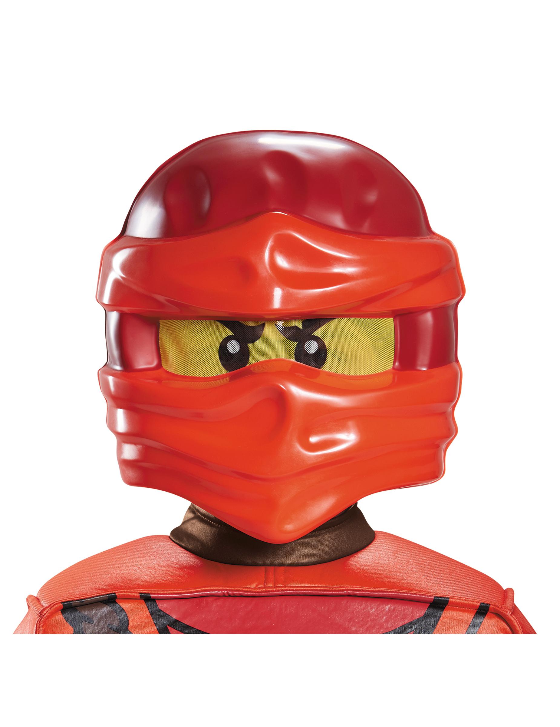 Maschera di kai ninjago™ lego® per bambino: maschere e vestiti di