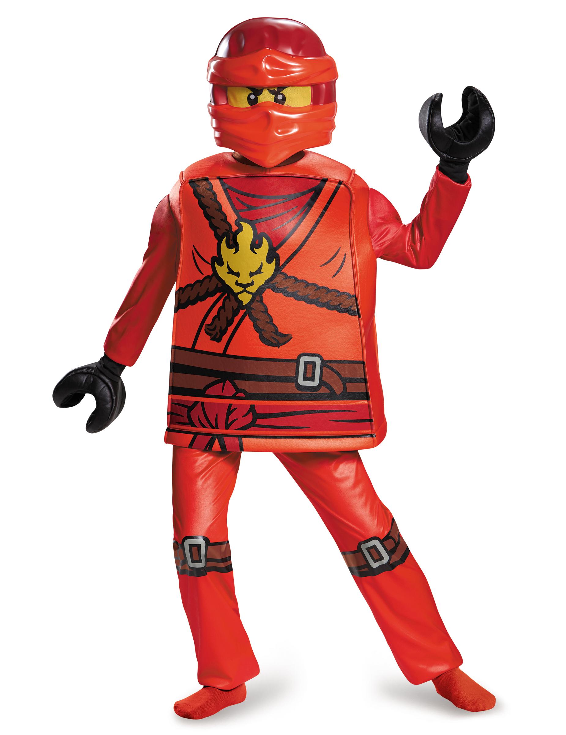 Costume deluxe Kai Ninjago™ - LEGO® per bambino 9349300fb2a