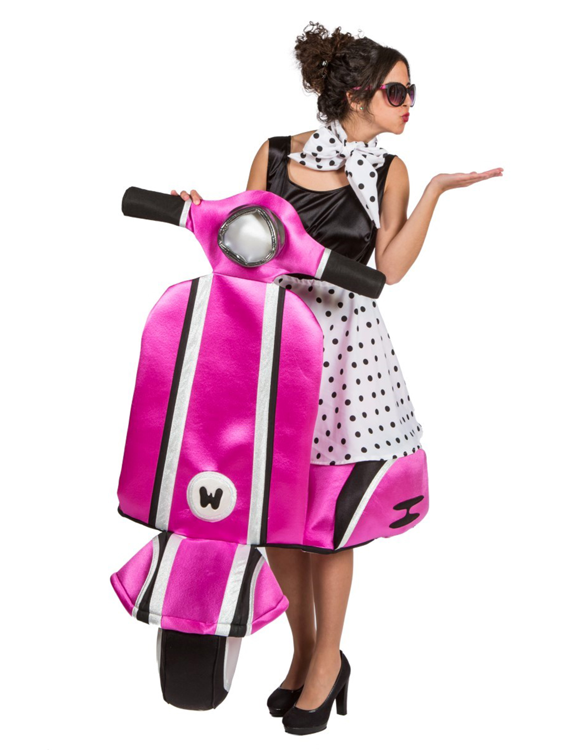 a3bf6a6d1c6cc Costume Vespa anni 60 donna - Premium  Costumi adulti