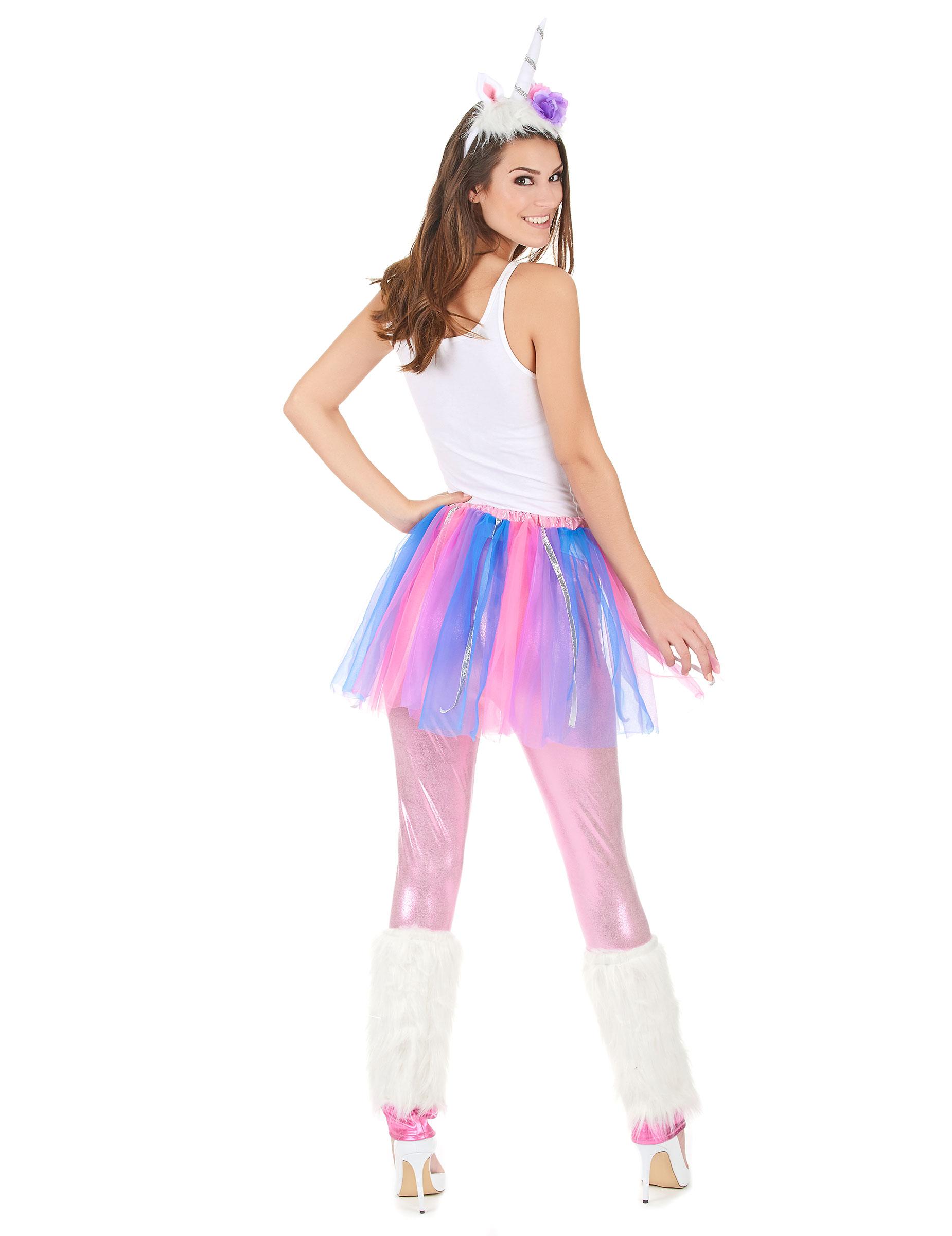 unicorno costume carnevale  Costume unicorno colorato donna: Costumi adulti,e vestiti di ...