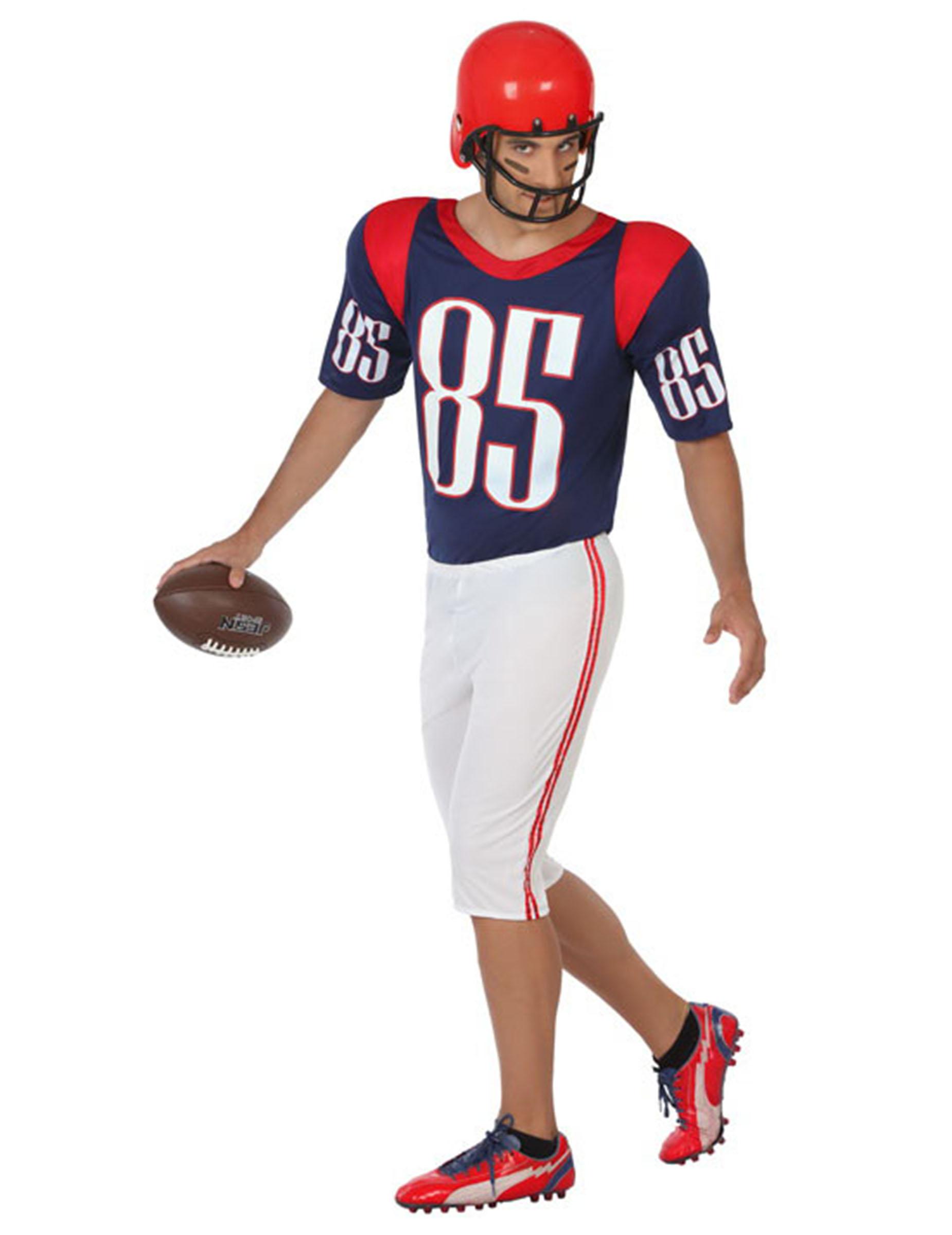 061d845db51a Costume giocatore football americano Adulto: Costumi adulti,e ...