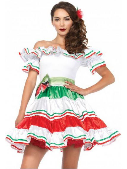 c3a775104351 Costume da Señorita messicana per adulto